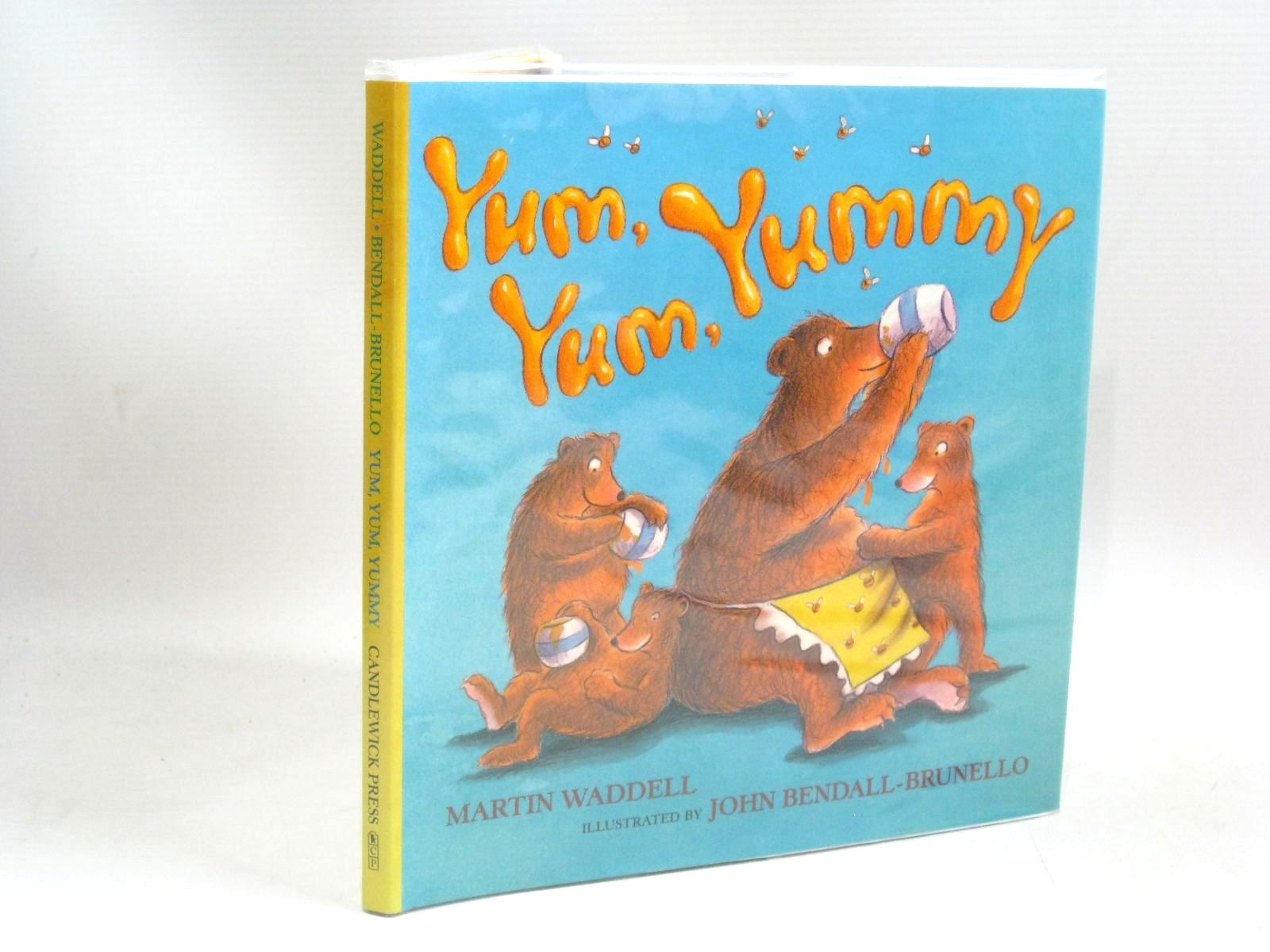 Photo of YUM, YUM, YUMMY written by Waddell, Martin illustrated by Bendall-Brunello, John published by Candlewick Press (STOCK CODE: 1315858)  for sale by Stella & Rose's Books