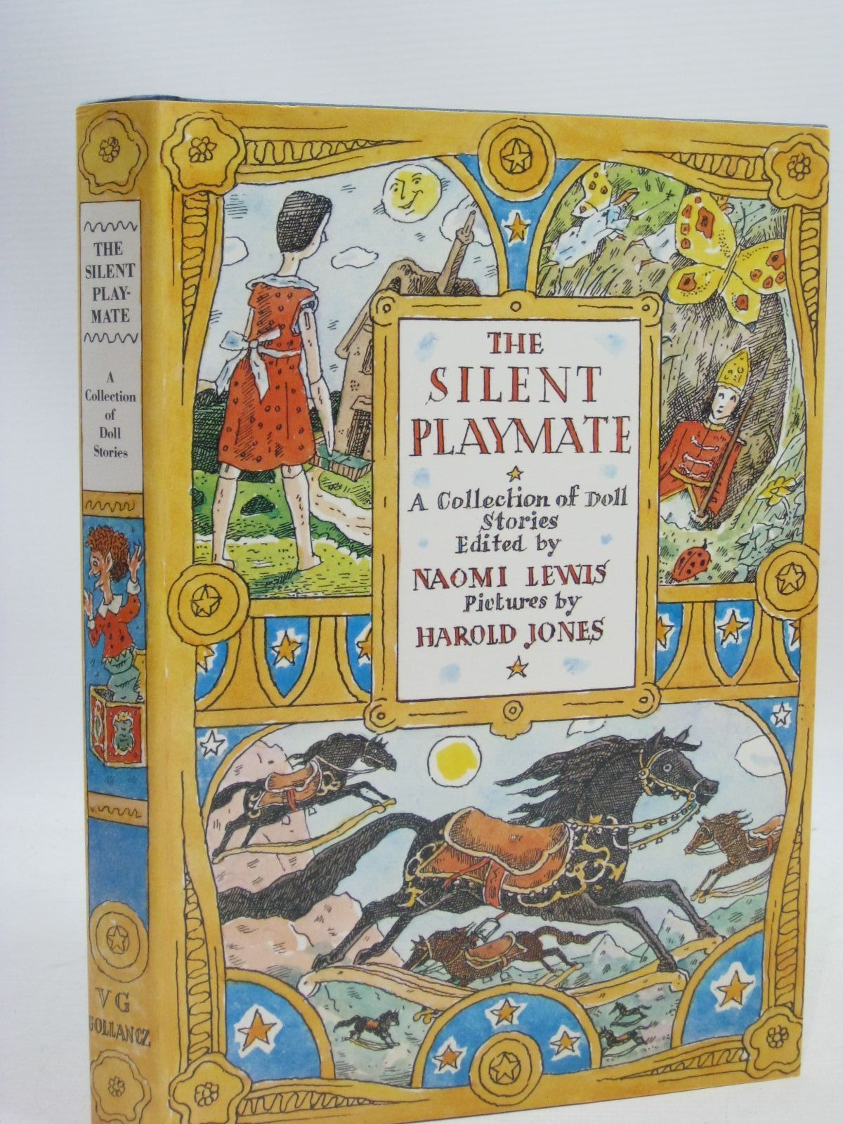 Photo of THE SILENT PLAYMATE written by Lewis, Naomi illustrated by Jones, Harold published by Victor Gollancz Ltd. (STOCK CODE: 1315869)  for sale by Stella & Rose's Books