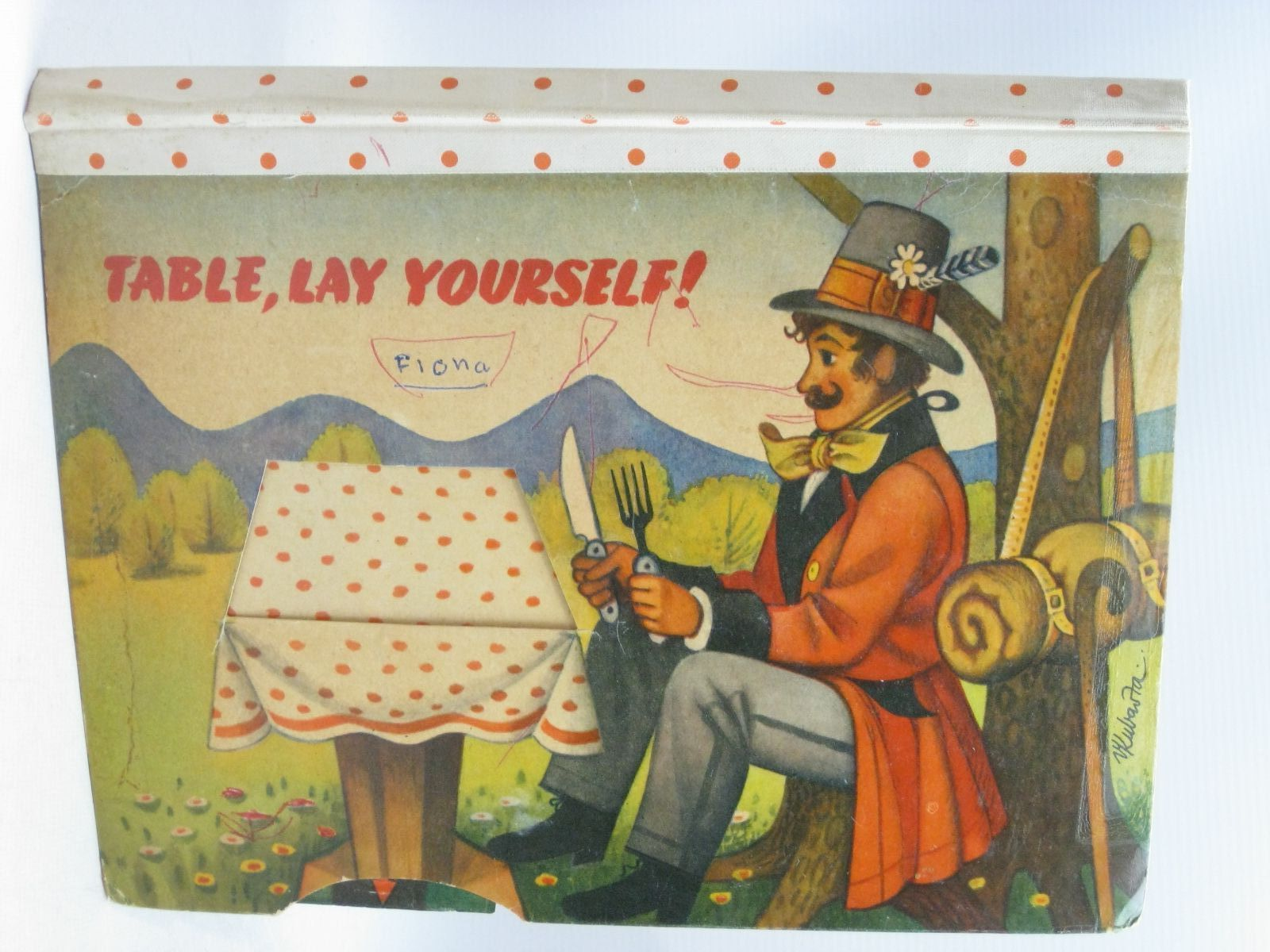 Photo of TABLE, LAY YOURSELF! illustrated by Kubasta, Vojtech published by Bancroft & Co.(Publishers) Ltd. (STOCK CODE: 1315875)  for sale by Stella & Rose's Books