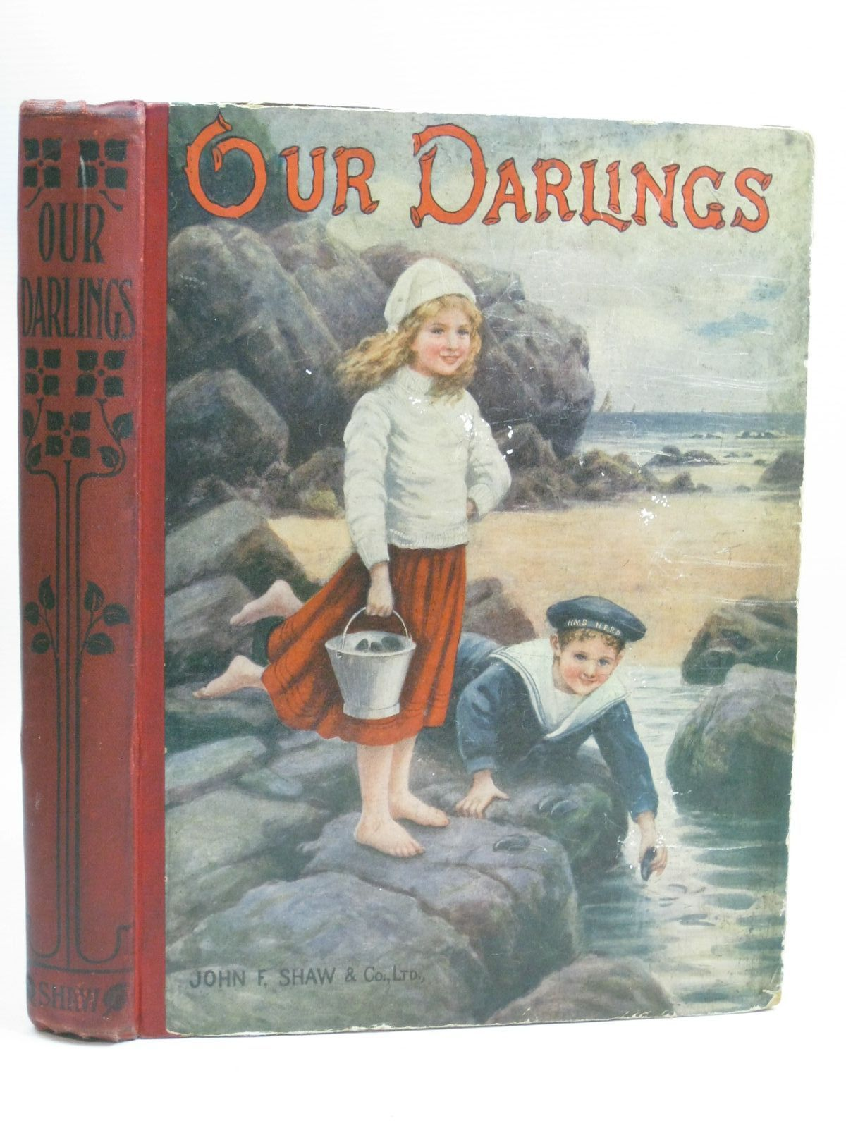 Photo of OUR DARLINGS written by Adams, W. Davenport<br />Shaw, Catharine illustrated by Farmiloe, Edith<br />Neilson, Harry B.<br />Wain, Louis published by John F. Shaw (STOCK CODE: 1315885)  for sale by Stella & Rose's Books
