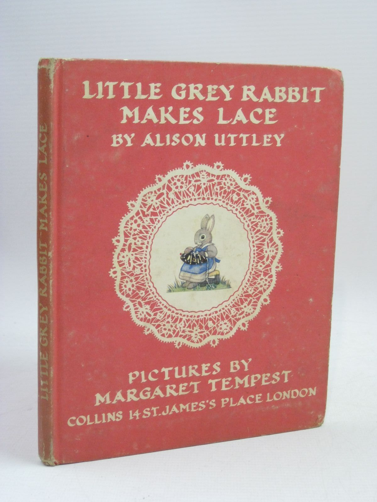 Photo of LITTLE GREY RABBIT MAKES LACE written by Uttley, Alison illustrated by Tempest, Margaret published by Collins (STOCK CODE: 1315903)  for sale by Stella & Rose's Books