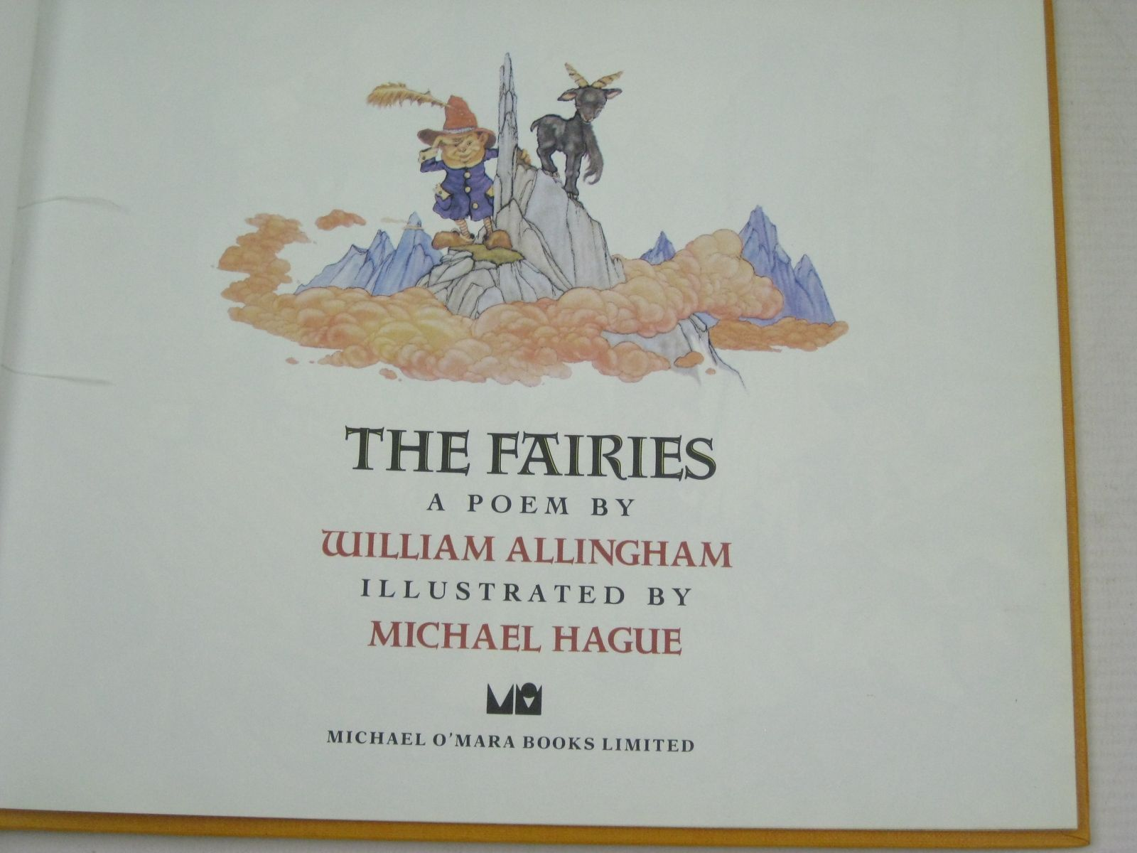 Photo of THE FAIRIES written by Allingham, William illustrated by Hague, Michael published by Michael O'Mara Books Limited (STOCK CODE: 1315956)  for sale by Stella & Rose's Books