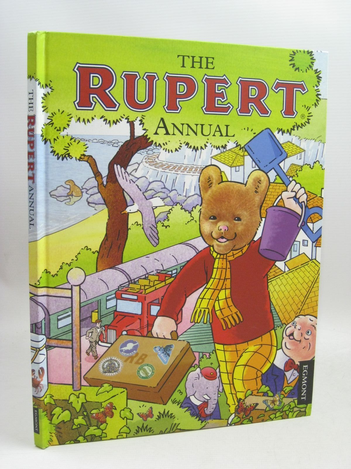 Photo of RUPERT ANNUAL 2012 written by Harwood, Beth<br />Trotter, Stuart illustrated by Trotter, Stuart<br />Bestall, Alfred published by Egmont Uk Limited (STOCK CODE: 1315974)  for sale by Stella & Rose's Books