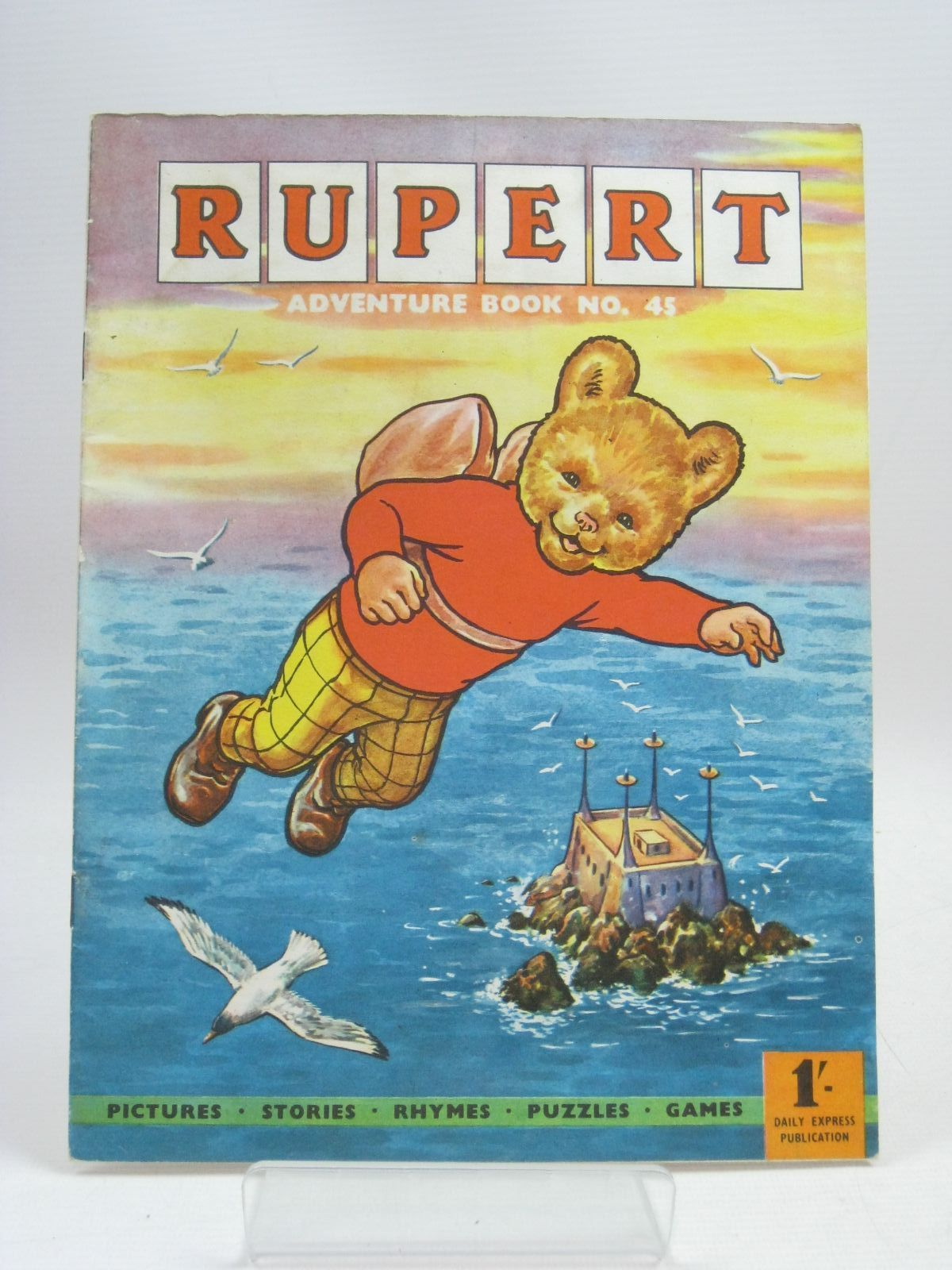 Photo of RUPERT ADVENTURE BOOK No. 45 written by Bestall, Alfred published by Daily Express (STOCK CODE: 1315987)  for sale by Stella & Rose's Books