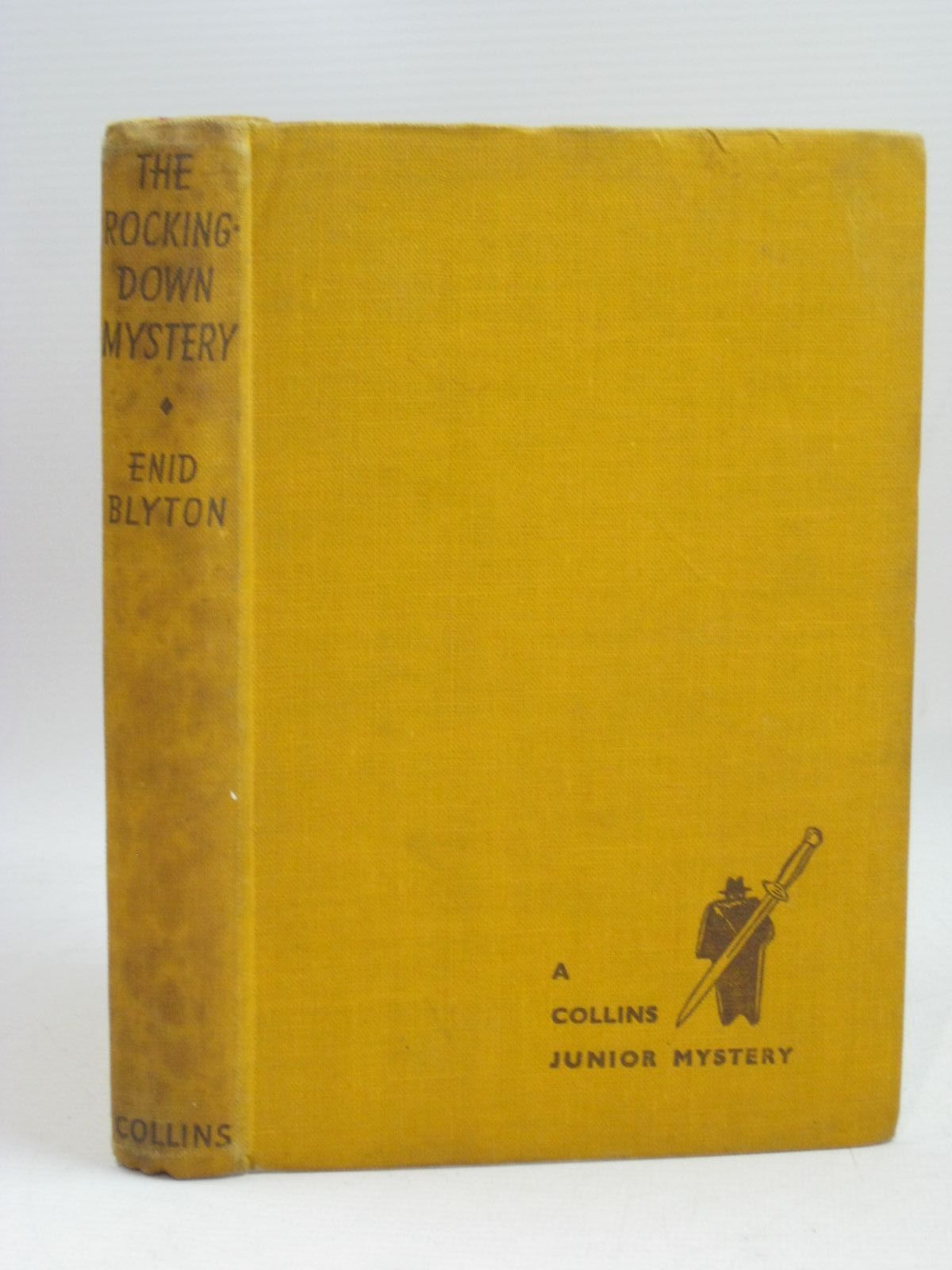 Photo of THE ROCKINGDOWN MYSTERY written by Blyton, Enid illustrated by Dunlop, Gilbert published by Collins (STOCK CODE: 1316047)  for sale by Stella & Rose's Books