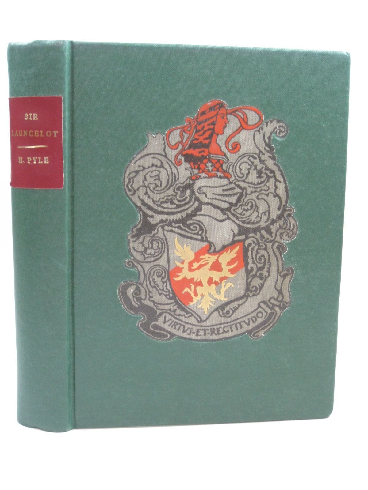 Photo of THE STORY OF SIR LANCELOT AND HIS COMPANIONS written by Pyle, Howard illustrated by Pyle, Howard published by Chapman & Hall Ltd (STOCK CODE: 1316096)  for sale by Stella & Rose's Books