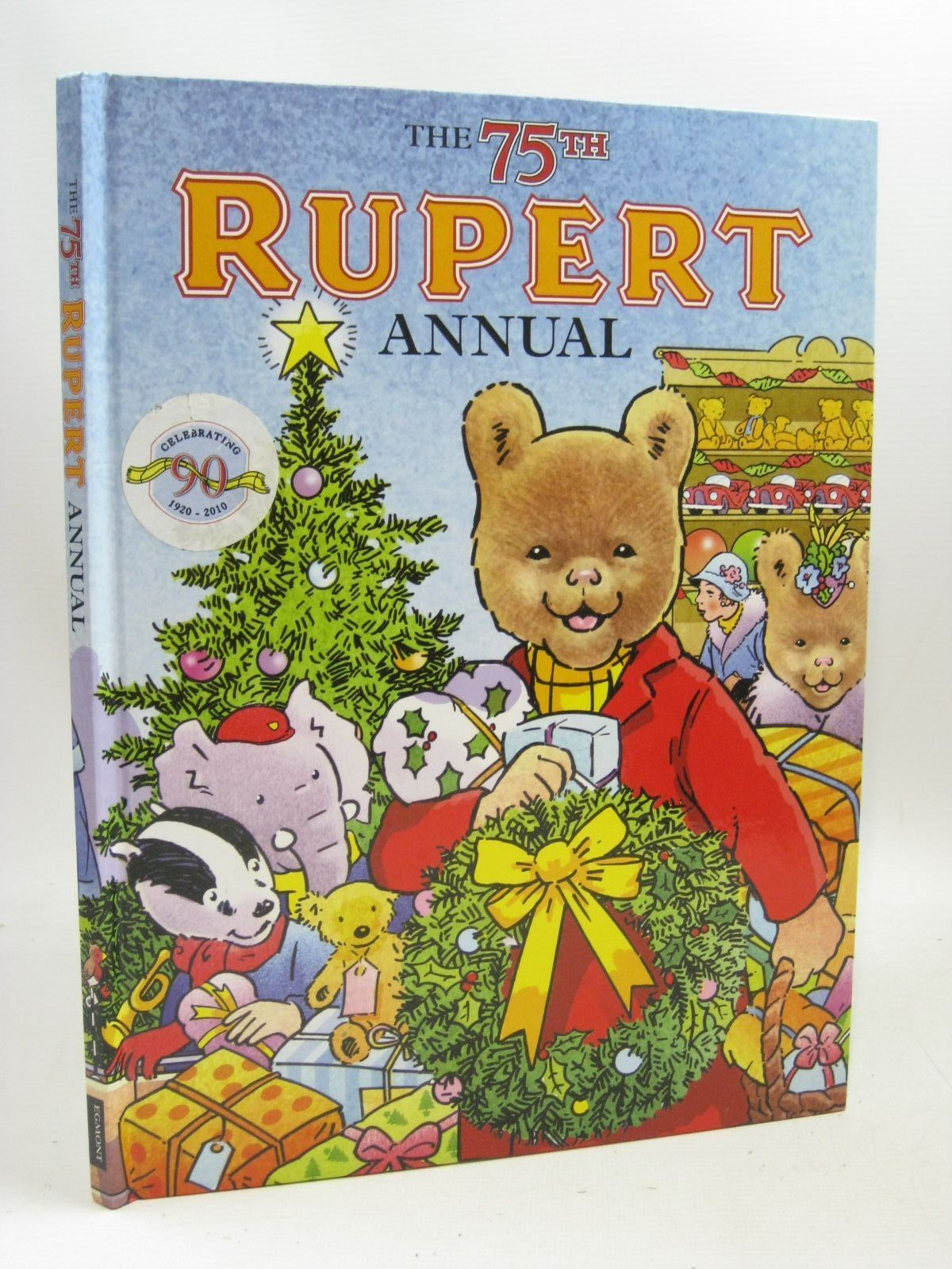Photo of RUPERT ANNUAL 2010 written by Trotter, Stuart published by Egmont Books Ltd. (STOCK CODE: 1316106)  for sale by Stella & Rose's Books