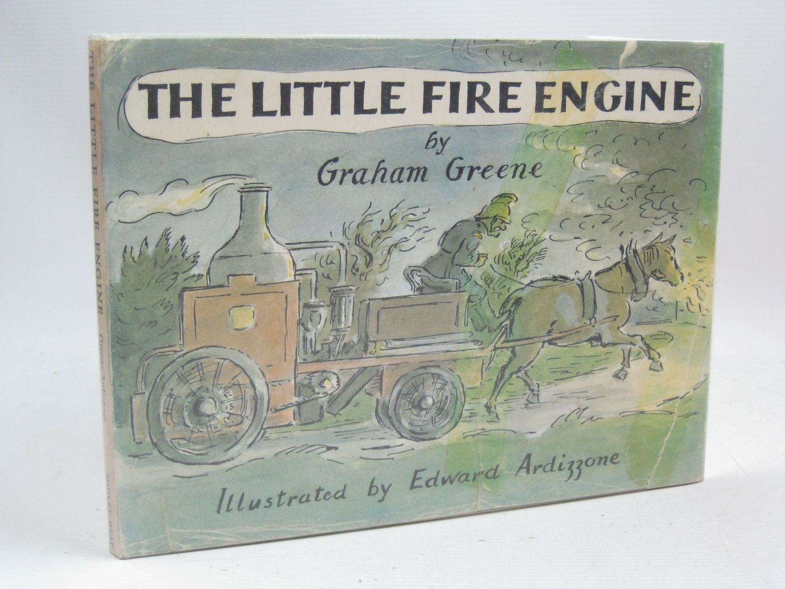 Photo of THE LITTLE FIRE ENGINE written by Greene, Graham illustrated by Ardizzone, Edward published by The Bodley Head (STOCK CODE: 1316107)  for sale by Stella & Rose's Books