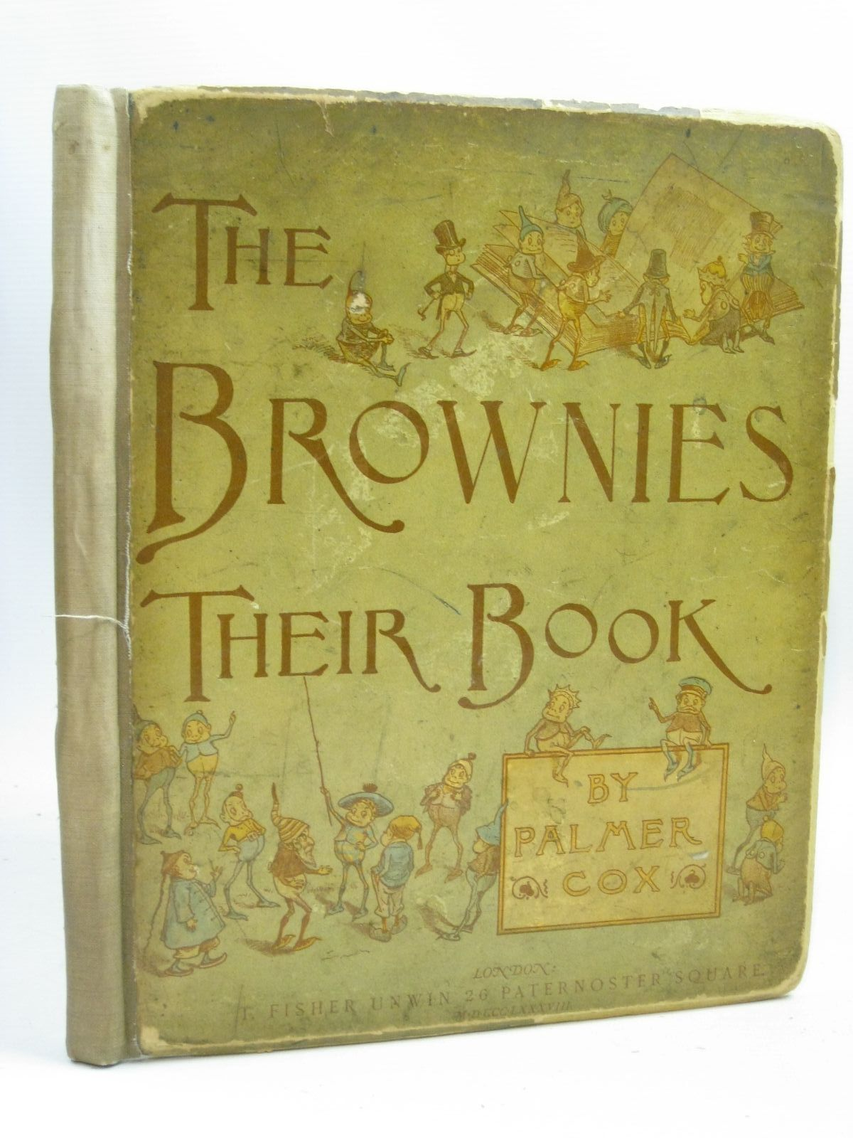 Photo of THE BROWNIES: THEIR BOOK written by Cox, Palmer illustrated by Cox, Palmer published by T. Fisher Unwin (STOCK CODE: 1316110)  for sale by Stella & Rose's Books