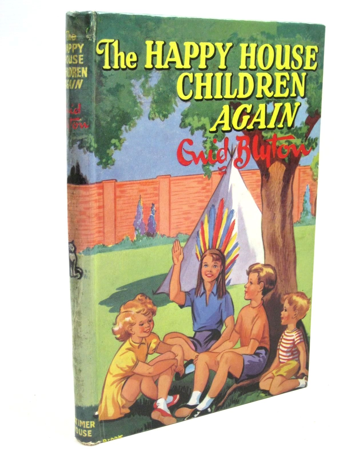Photo of THE HAPPY HOUSE CHILDREN AGAIN written by Blyton, Enid illustrated by Gell, Kathleen published by Latimer House Limited (STOCK CODE: 1316121)  for sale by Stella & Rose's Books