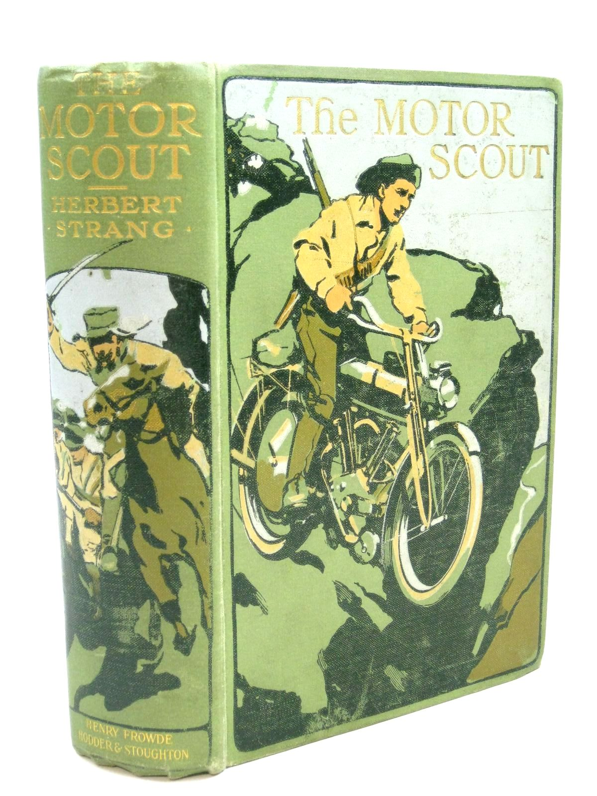 Photo of THE MOTOR SCOUT written by Strang, Herbert illustrated by Cuneo, Cyrus published by Henry Frowde, Hodder & Stoughton (STOCK CODE: 1316127)  for sale by Stella & Rose's Books