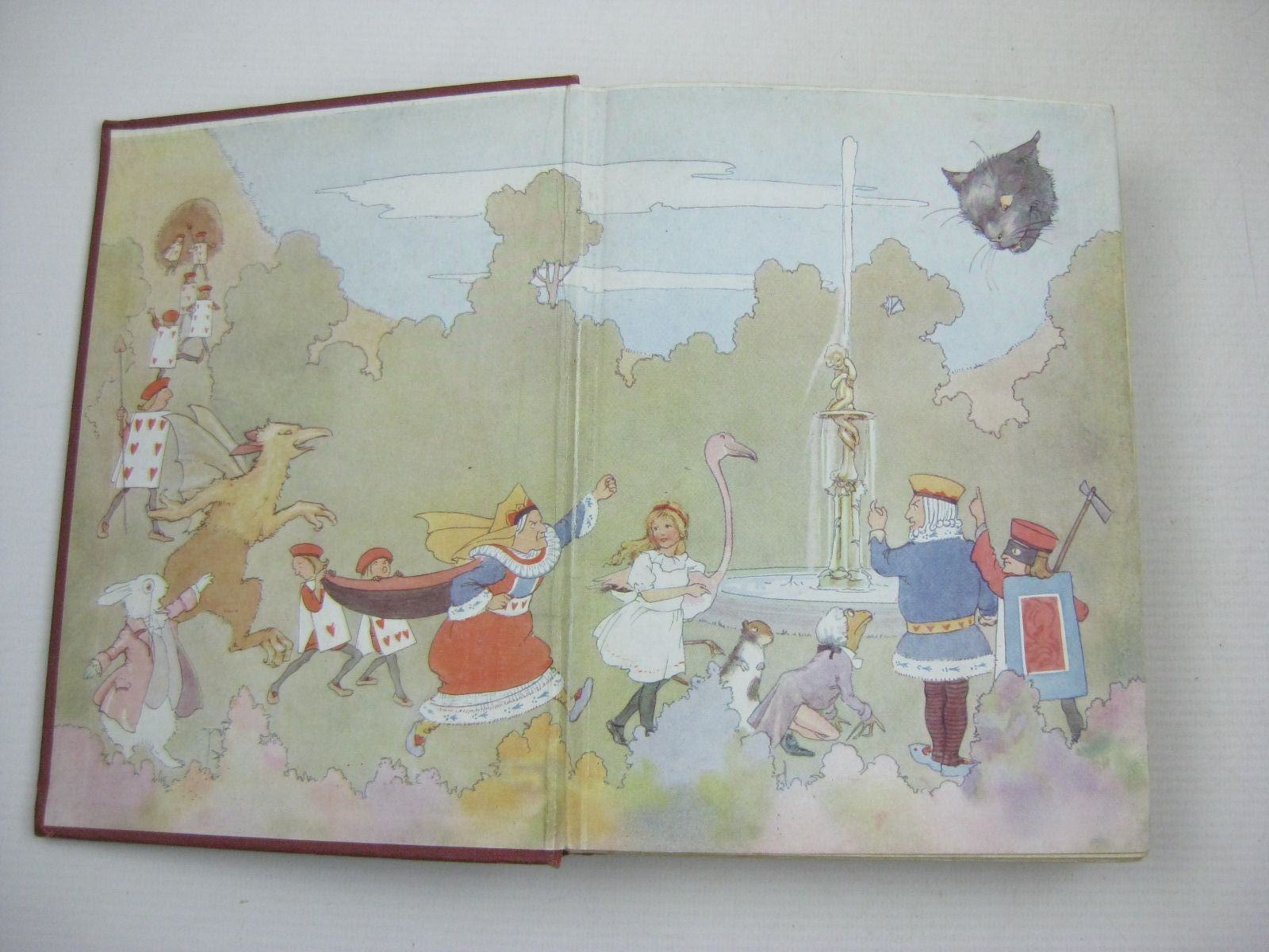 Photo of ALICE IN WONDERLAND written by Carroll, Lewis illustrated by Tarrant, Margaret published by Ward, Lock & Co. Limited (STOCK CODE: 1316197)  for sale by Stella & Rose's Books