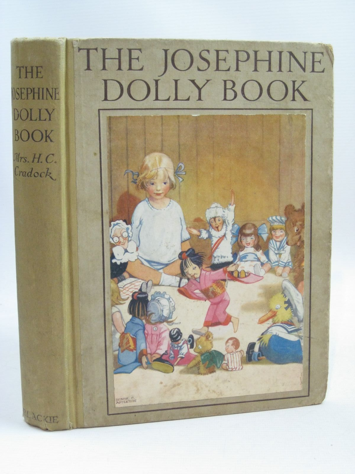 Photo of THE JOSEPHINE DOLLY BOOK written by Cradock, Mrs. H.C. illustrated by Appleton, Honor C. published by Blackie & Son Ltd. (STOCK CODE: 1316207)  for sale by Stella & Rose's Books