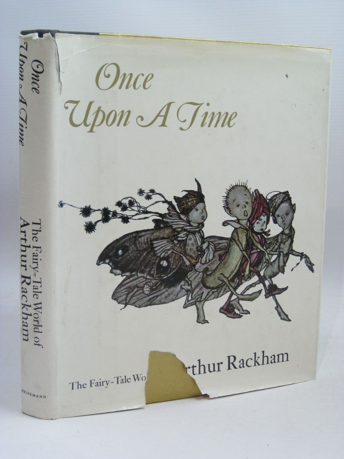 Photo of ONCE UPON A TIME THE FAIRY-TALE WORLD OF ARTHUR RACKHAM written by Darrell, Margery illustrated by Rackham, Arthur published by Heinemann (STOCK CODE: 1316220)  for sale by Stella & Rose's Books