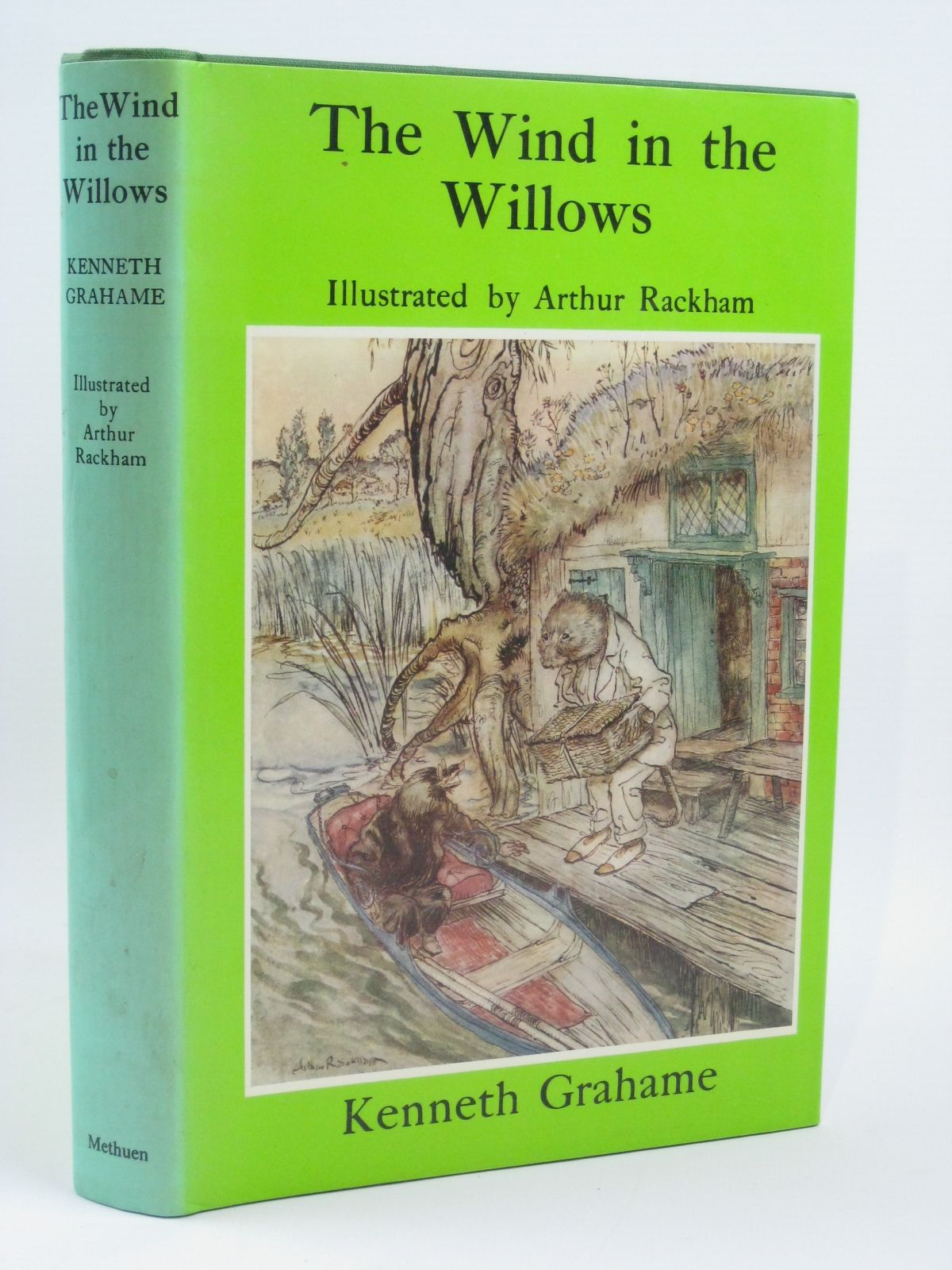 Photo of THE WIND IN THE WILLOWS written by Grahame, Kenneth illustrated by Rackham, Arthur published by Methuen Children's Books (STOCK CODE: 1316232)  for sale by Stella & Rose's Books