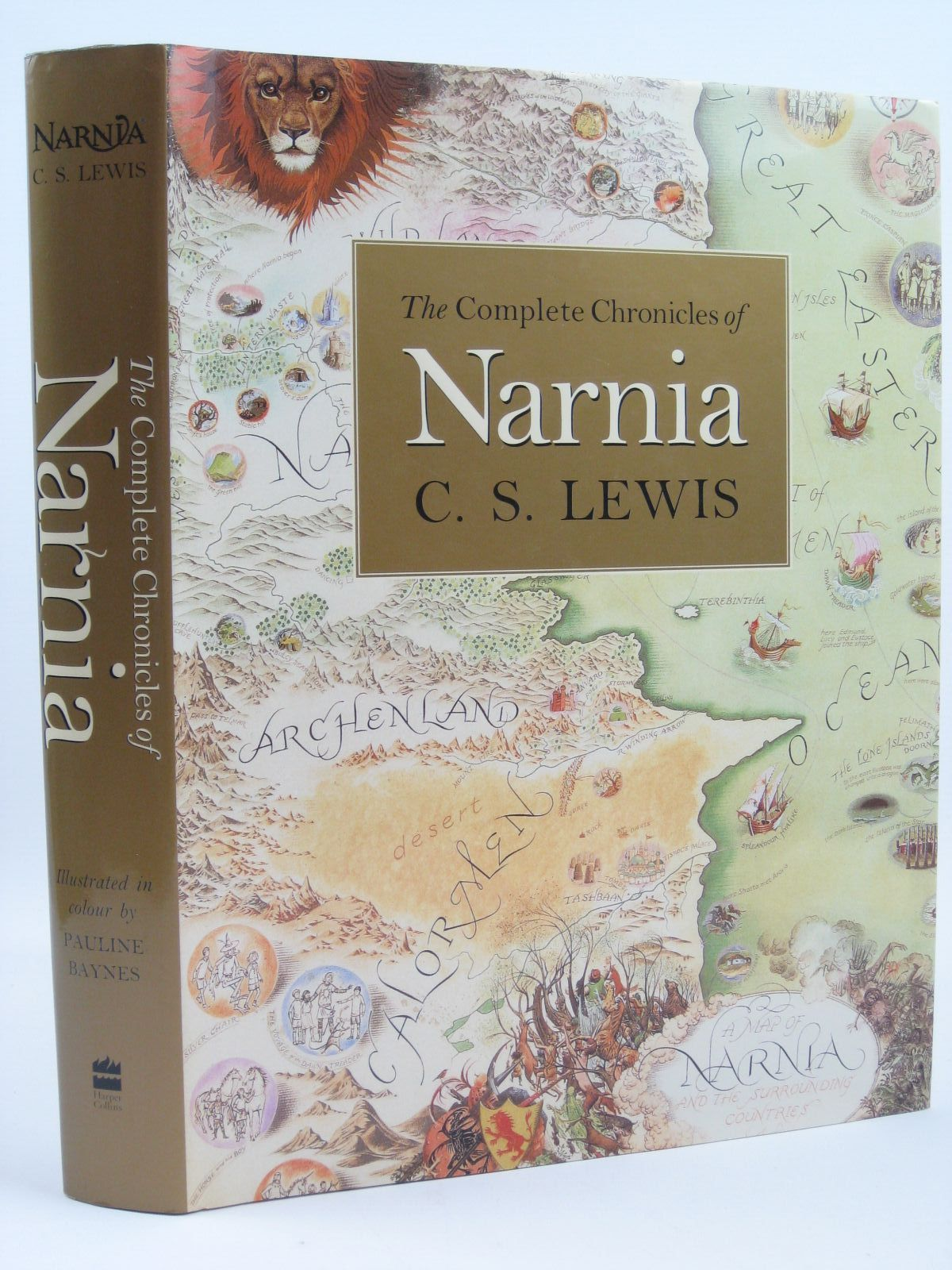 Photo of THE COMPLETE CHRONICLES OF NARNIA written by Lewis, C.S. illustrated by Baynes, Pauline published by Collins (STOCK CODE: 1316240)  for sale by Stella & Rose's Books