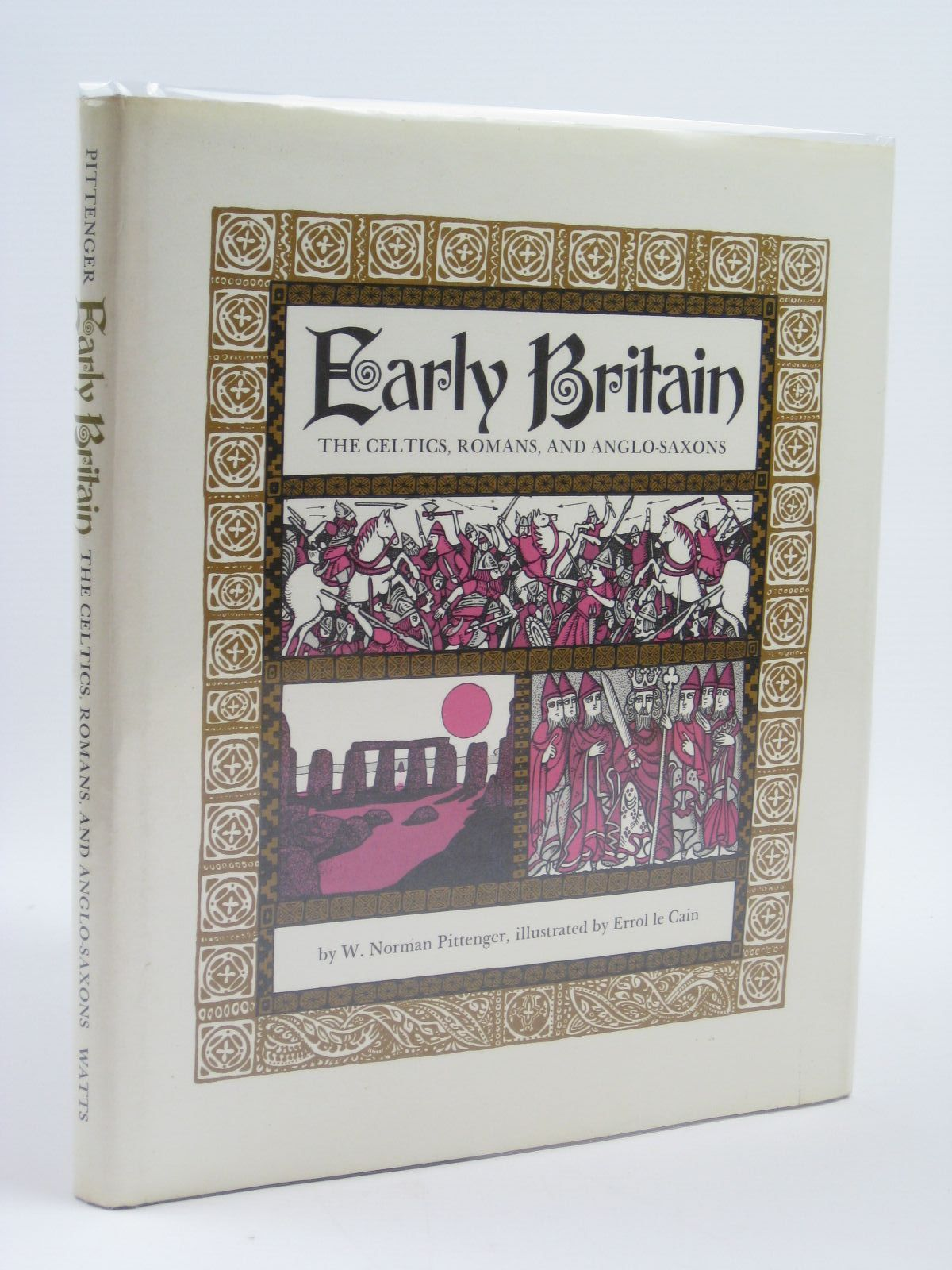 Photo of EARLY BRITAIN THE CELTS, ROMANS AND ANGO-SAXONS written by Pittenger, W illustrated by Le Cain, Errol published by Franklin Watts Ltd. (STOCK CODE: 1316254)  for sale by Stella & Rose's Books