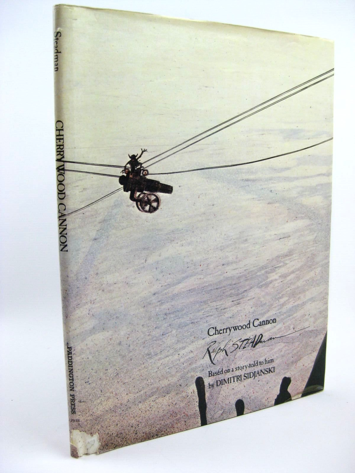 Photo of CHERRYWOOD CANNON written by Sidjanski, Dimitri illustrated by Steadman, Ralph published by Paddington Press (STOCK CODE: 1316279)  for sale by Stella & Rose's Books