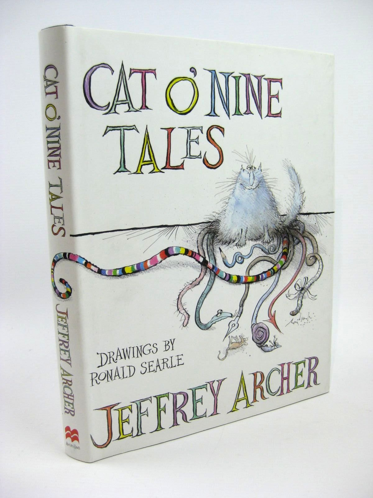 Photo of CAT O' NINE TALES written by Archer, Jeffrey illustrated by Searle, Ronald published by MacMillan (STOCK CODE: 1316282)  for sale by Stella & Rose's Books