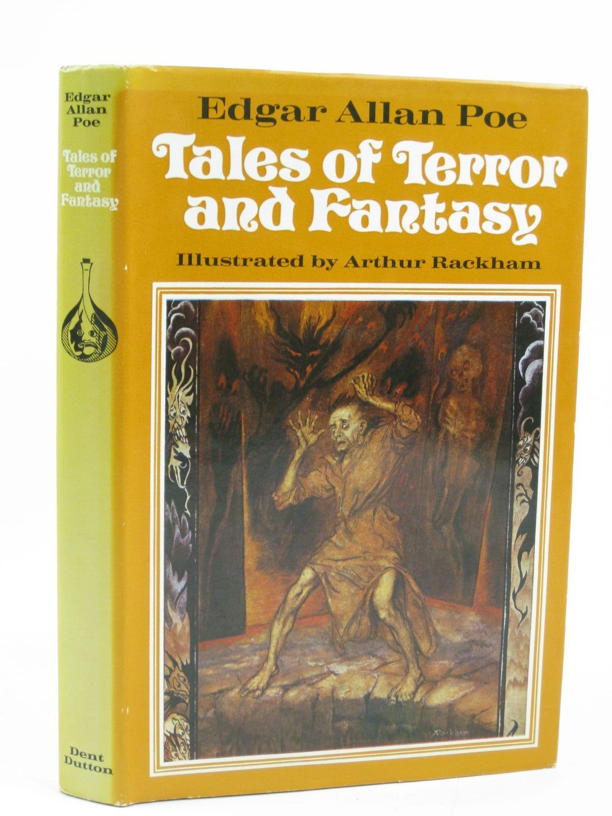 Photo of TALES OF TERROR AND FANTASY written by Poe, Edgar Allan illustrated by Rackham, Arthur published by J.M. Dent & Sons Ltd., E.P. Dutton & Co. Inc. (STOCK CODE: 1316297)  for sale by Stella & Rose's Books