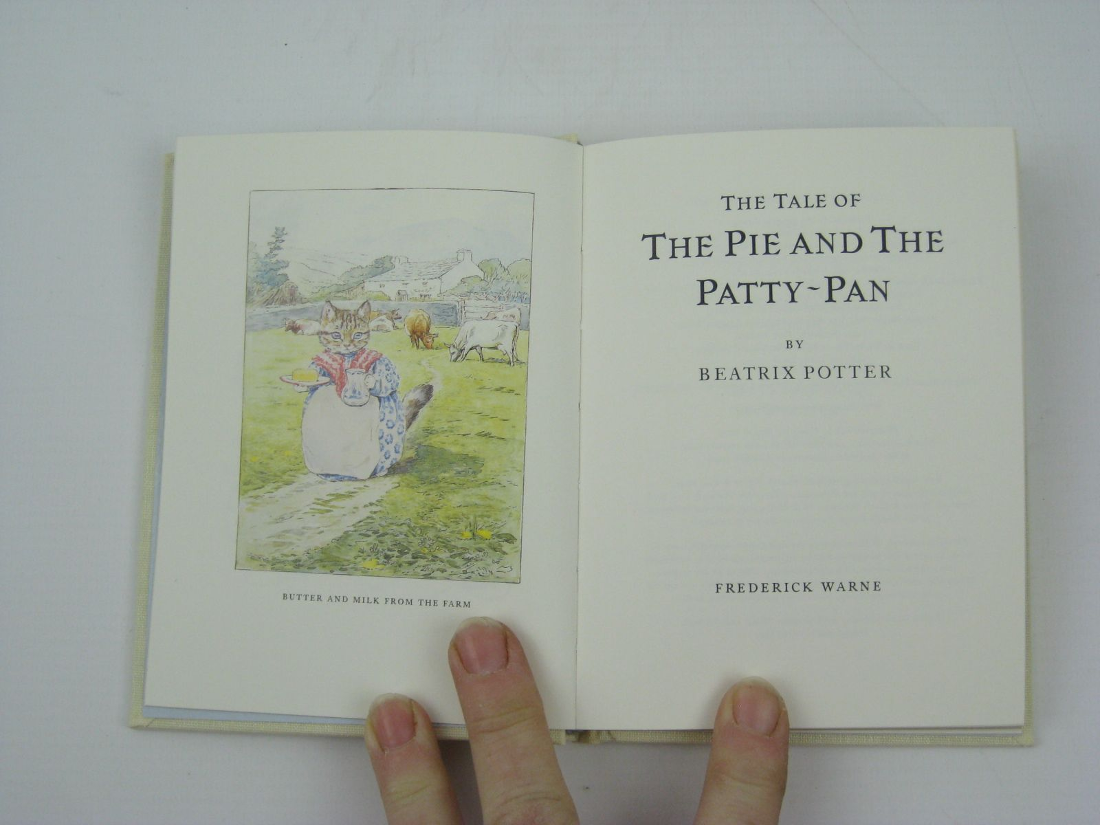 Photo of THE TALE OF THE PIE AND THE PATTY-PAN written by Potter, Beatrix illustrated by Potter, Beatrix published by Frederick Warne, The Penguin Group (STOCK CODE: 1316341)  for sale by Stella & Rose's Books