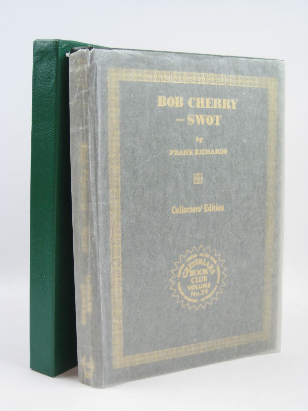 Photo of BOB CHERRY - SWOT written by Richards, Frank published by Howard Baker (STOCK CODE: 1316361)  for sale by Stella & Rose's Books