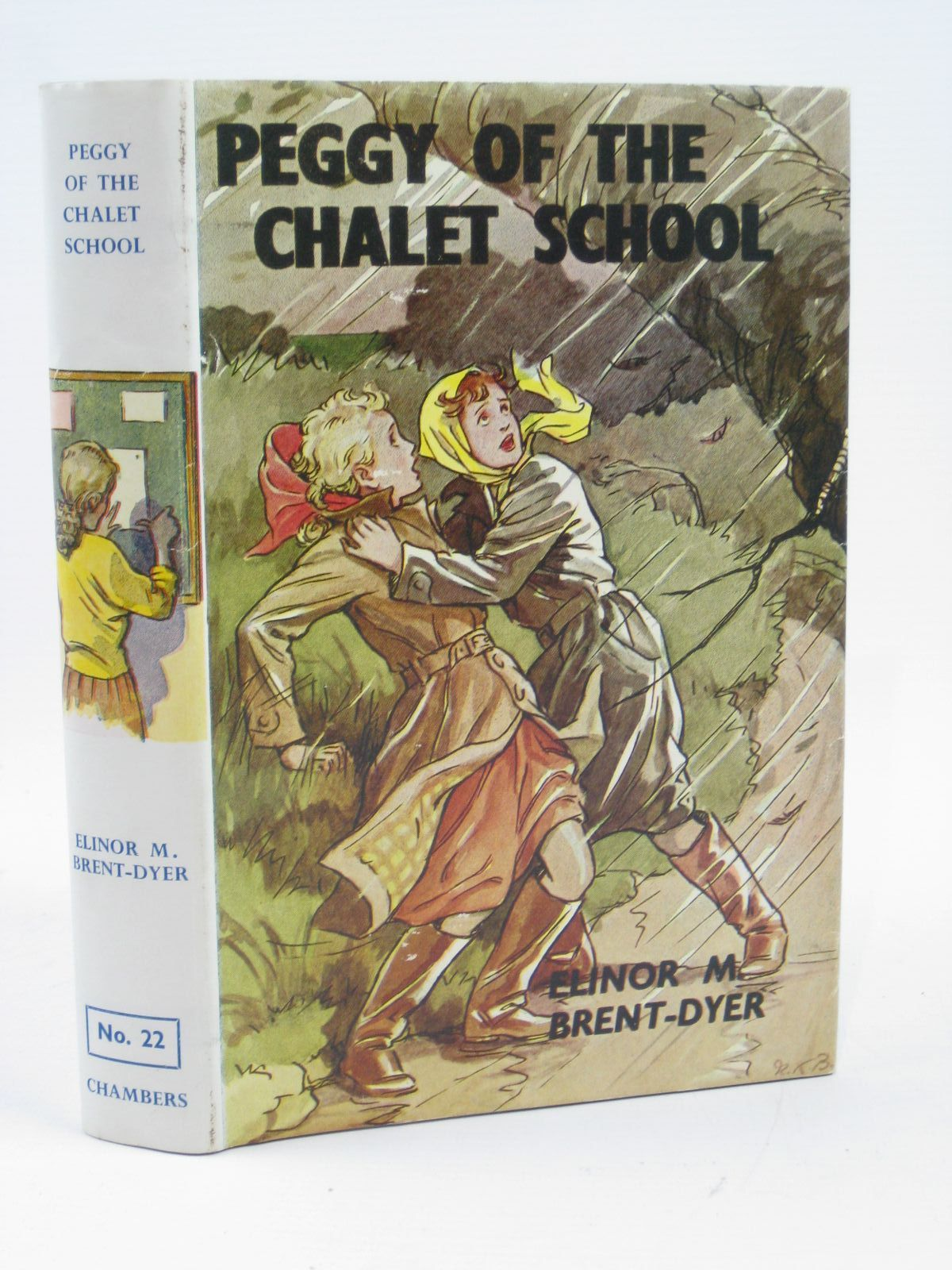Photo of PEGGY OF THE CHALET SCHOOL written by Brent-Dyer, Elinor M. illustrated by Brisley, Nina K. published by W. & R. Chambers Limited (STOCK CODE: 1316378)  for sale by Stella & Rose's Books