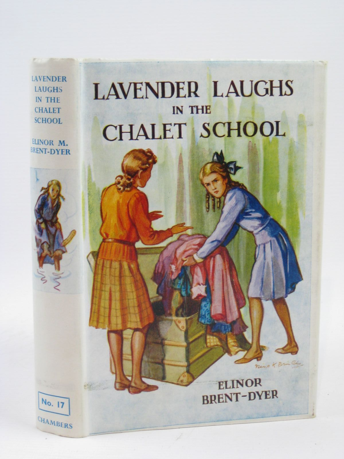 Photo of LAVENDER LAUGHS IN THE CHALET SCHOOL written by Brent-Dyer, Elinor M. published by W. & R. Chambers Limited (STOCK CODE: 1316382)  for sale by Stella & Rose's Books