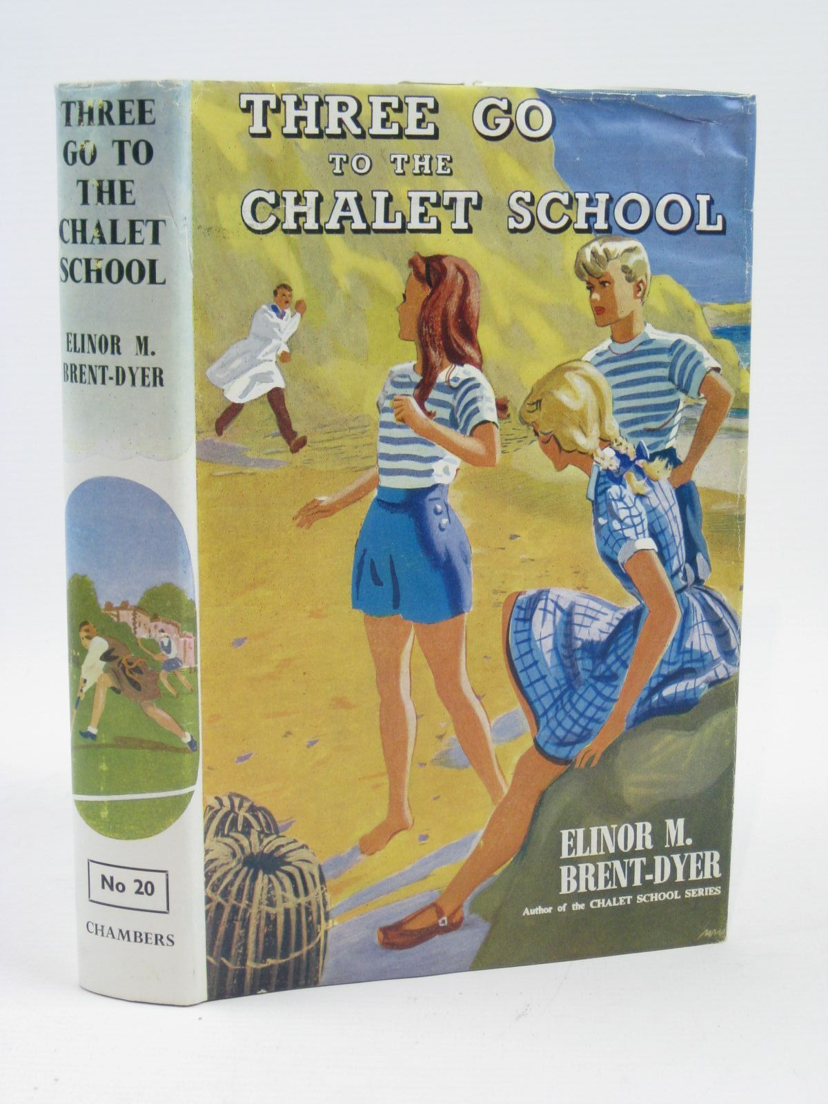 Photo of THREE GO TO THE CHALET SCHOOL written by Brent-Dyer, Elinor M. published by W. & R. Chambers Limited (STOCK CODE: 1316384)  for sale by Stella & Rose's Books