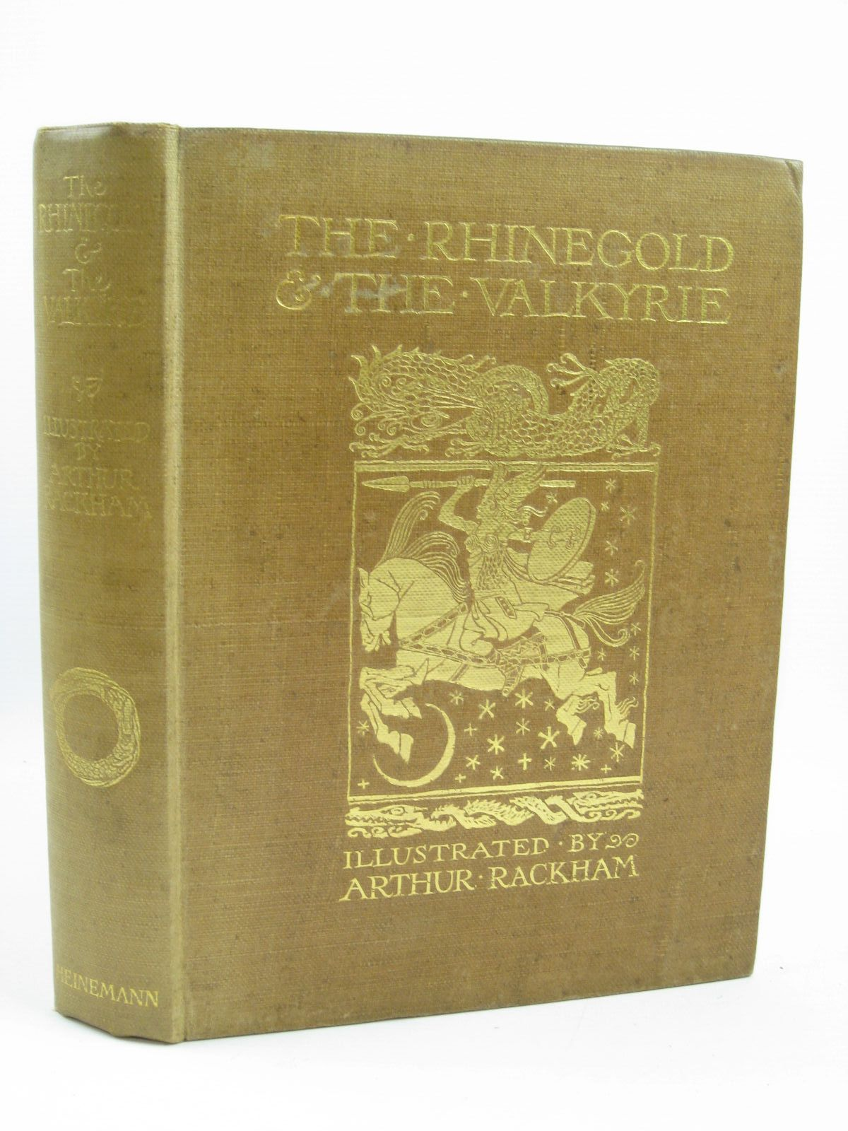 Photo of THE RHINEGOLD & THE VALKYRIE written by Wagner, Richard<br />Armour, Margaret illustrated by Rackham, Arthur published by William Heinemann (STOCK CODE: 1316417)  for sale by Stella & Rose's Books