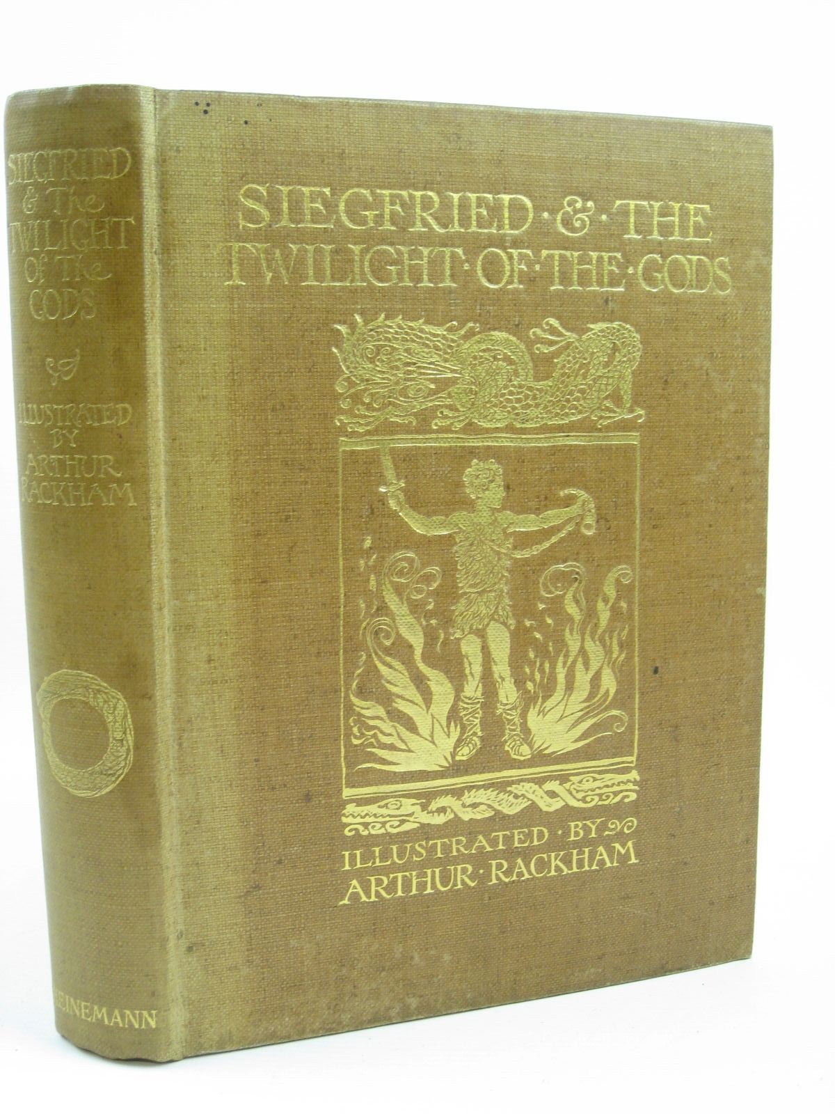 Photo of SIEGFRIED AND THE TWILIGHT OF THE GODS written by Wagner, Richard illustrated by Rackham, Arthur published by William Heinemann (STOCK CODE: 1316418)  for sale by Stella & Rose's Books