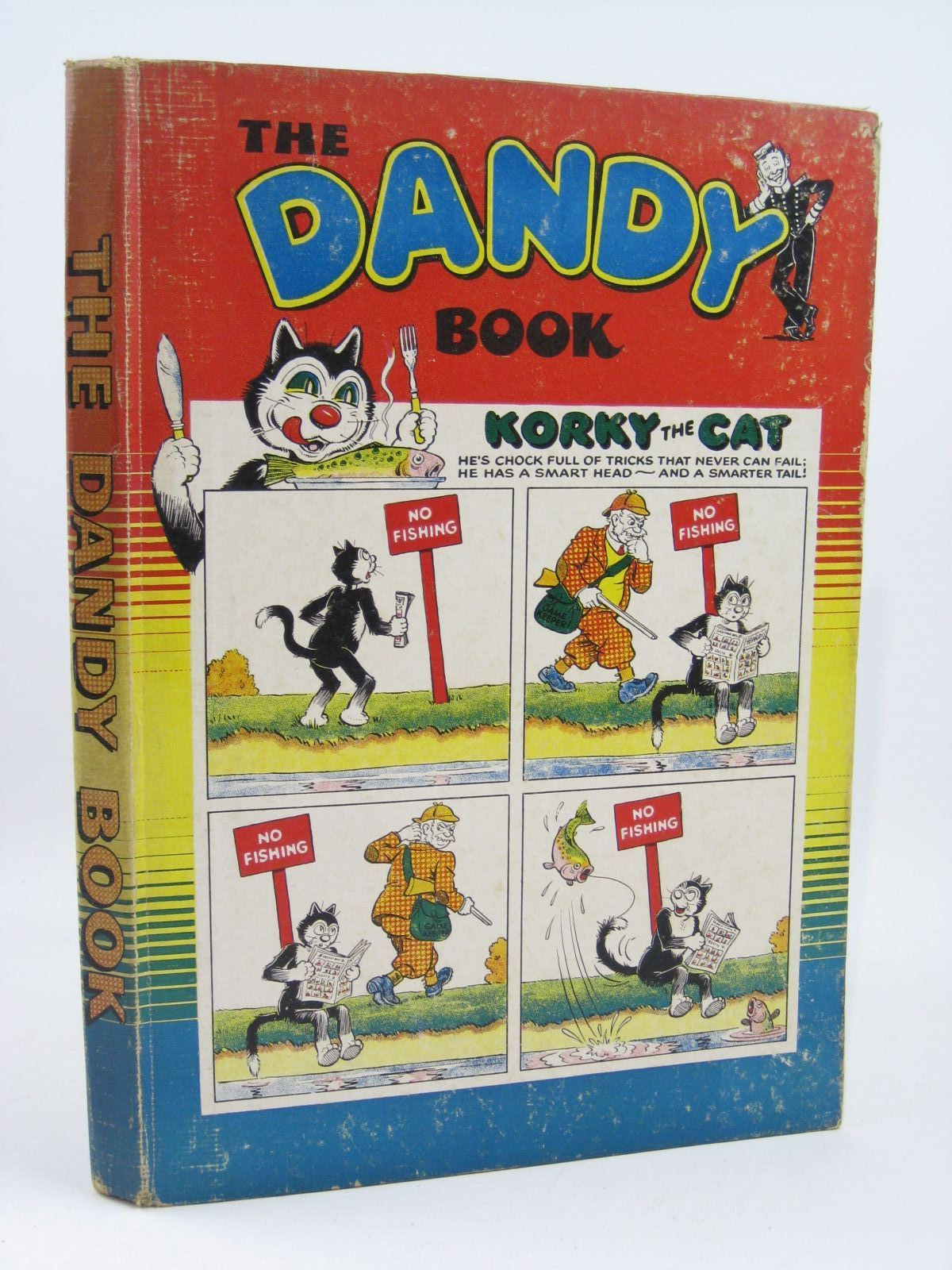 Photo of THE DANDY BOOK 1955 published by D.C. Thomson & Co Ltd. (STOCK CODE: 1316420)  for sale by Stella & Rose's Books