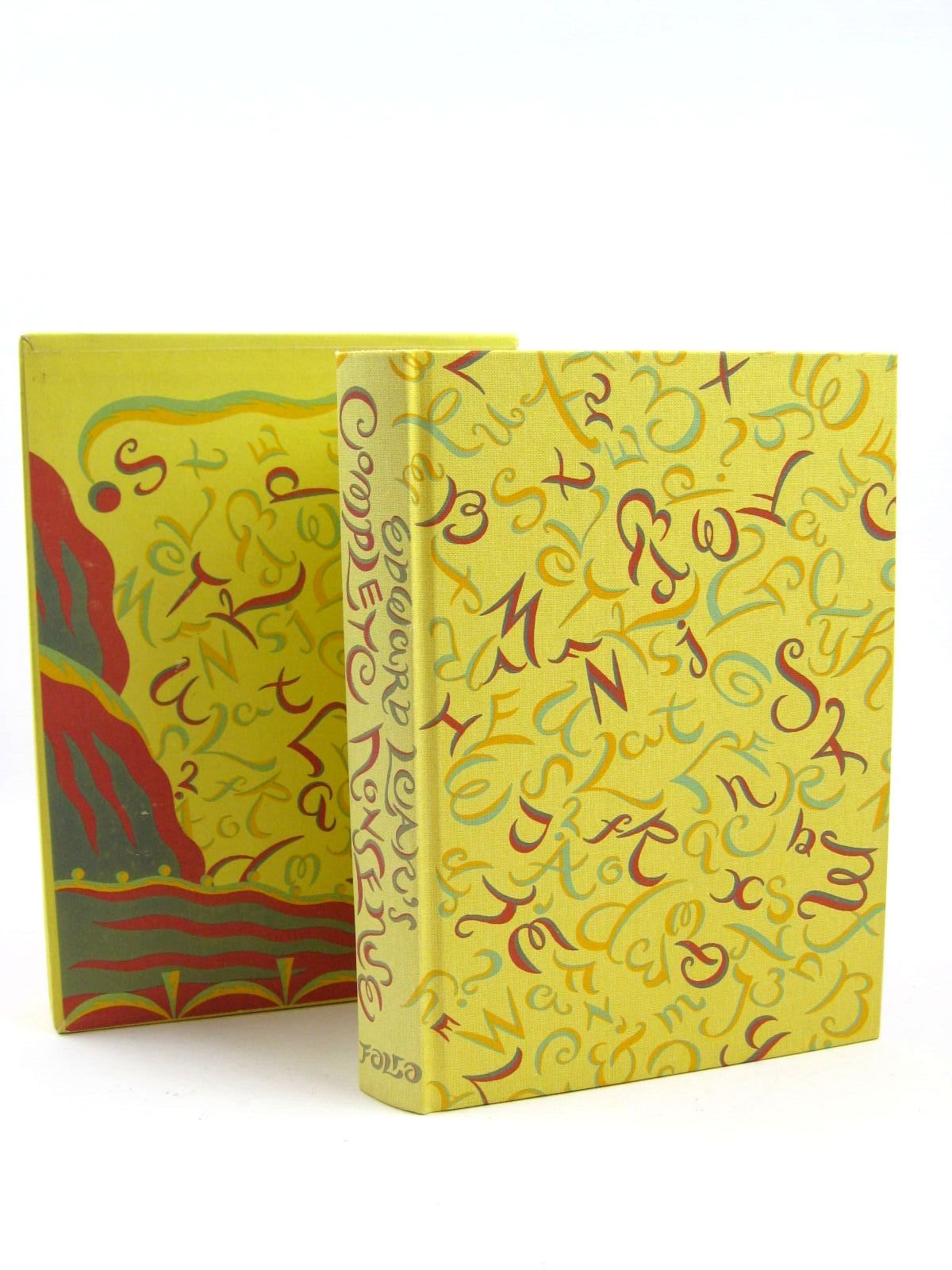 Photo of EDWARD LEAR'S COMPLETE NONSENSE written by Lear, Edward illustrated by Lear, Edward<br />Beards, Richard published by Folio Society (STOCK CODE: 1316425)  for sale by Stella & Rose's Books