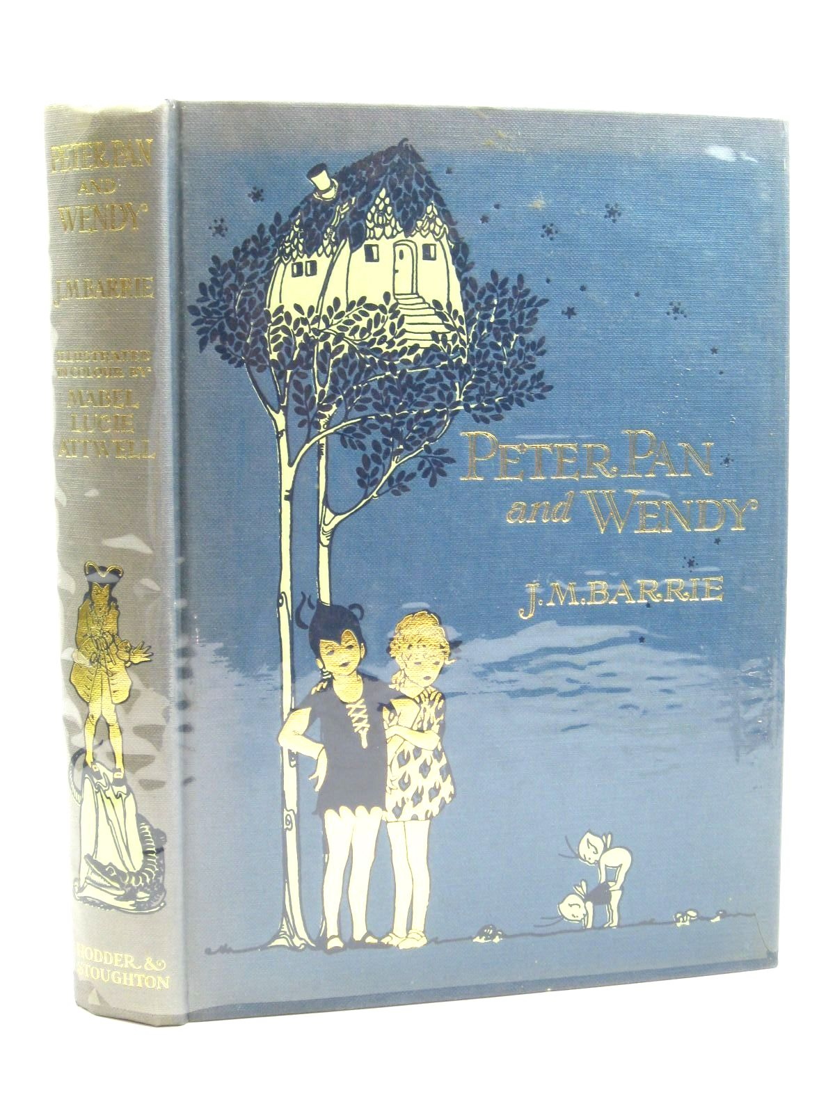 Photo of PETER PAN AND WENDY written by Barrie, J.M. illustrated by Attwell, Mabel Lucie published by Hodder & Stoughton (STOCK CODE: 1316426)  for sale by Stella & Rose's Books