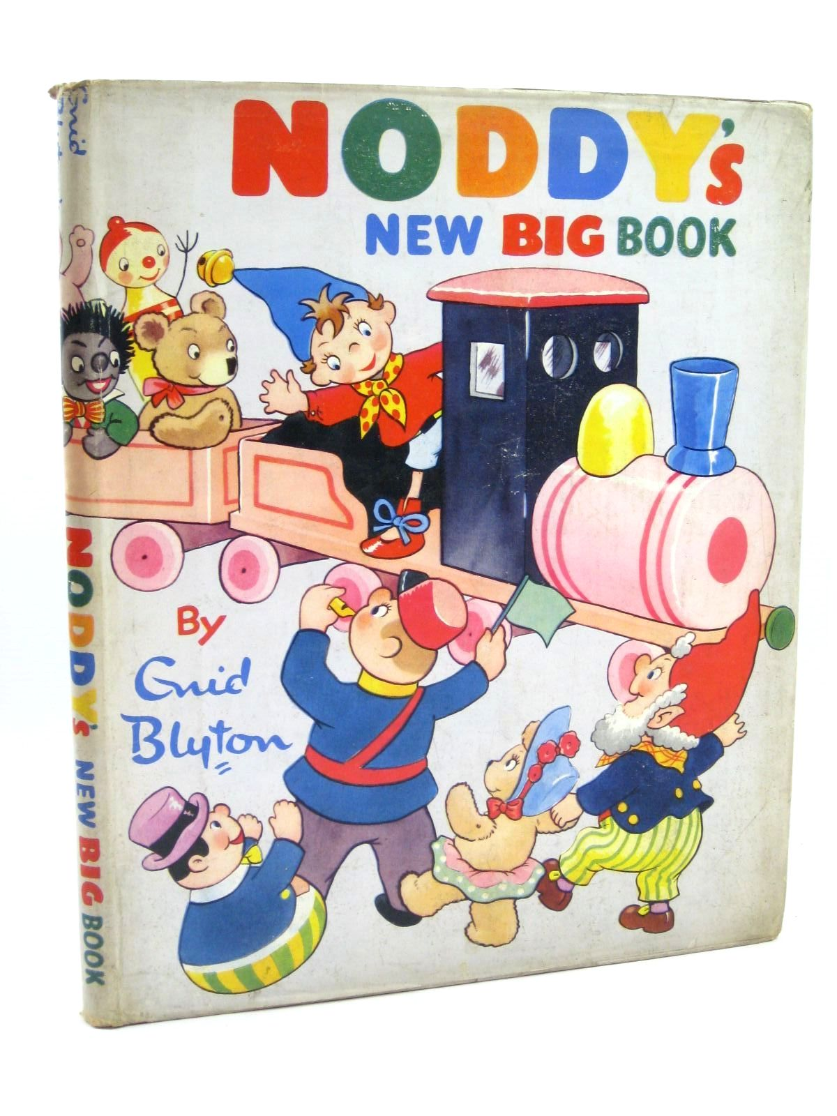 Photo of NODDY'S NEW BIG BOOK written by Blyton, Enid published by Sampson Low, Marston & Co. Ltd., D.V. Publications Ltd. (STOCK CODE: 1316439)  for sale by Stella & Rose's Books