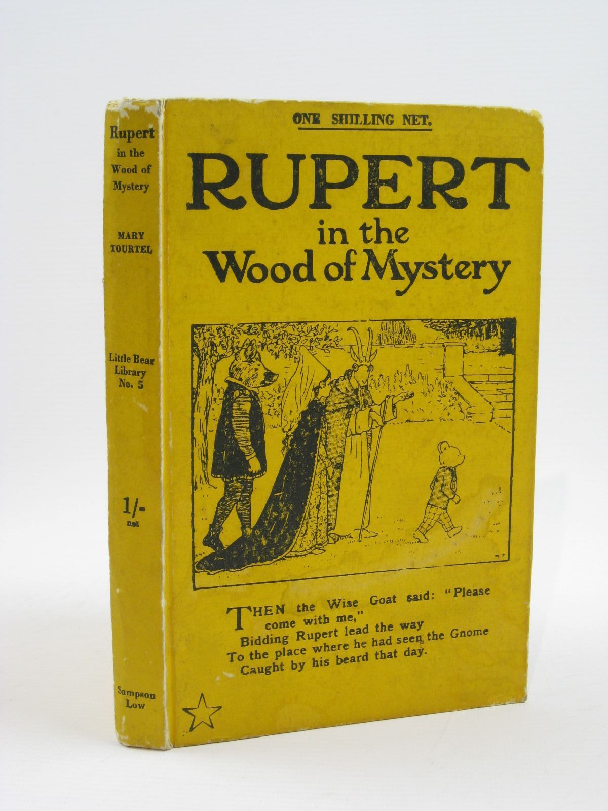Photo of RUPERT IN THE WOOD OF MYSTERY - RUPERT LITTLE BEAR LIBRARY No. 5 written by Tourtel, Mary illustrated by Tourtel, Mary published by Sampson Low, Marston & Co. Ltd. (STOCK CODE: 1316458)  for sale by Stella & Rose's Books