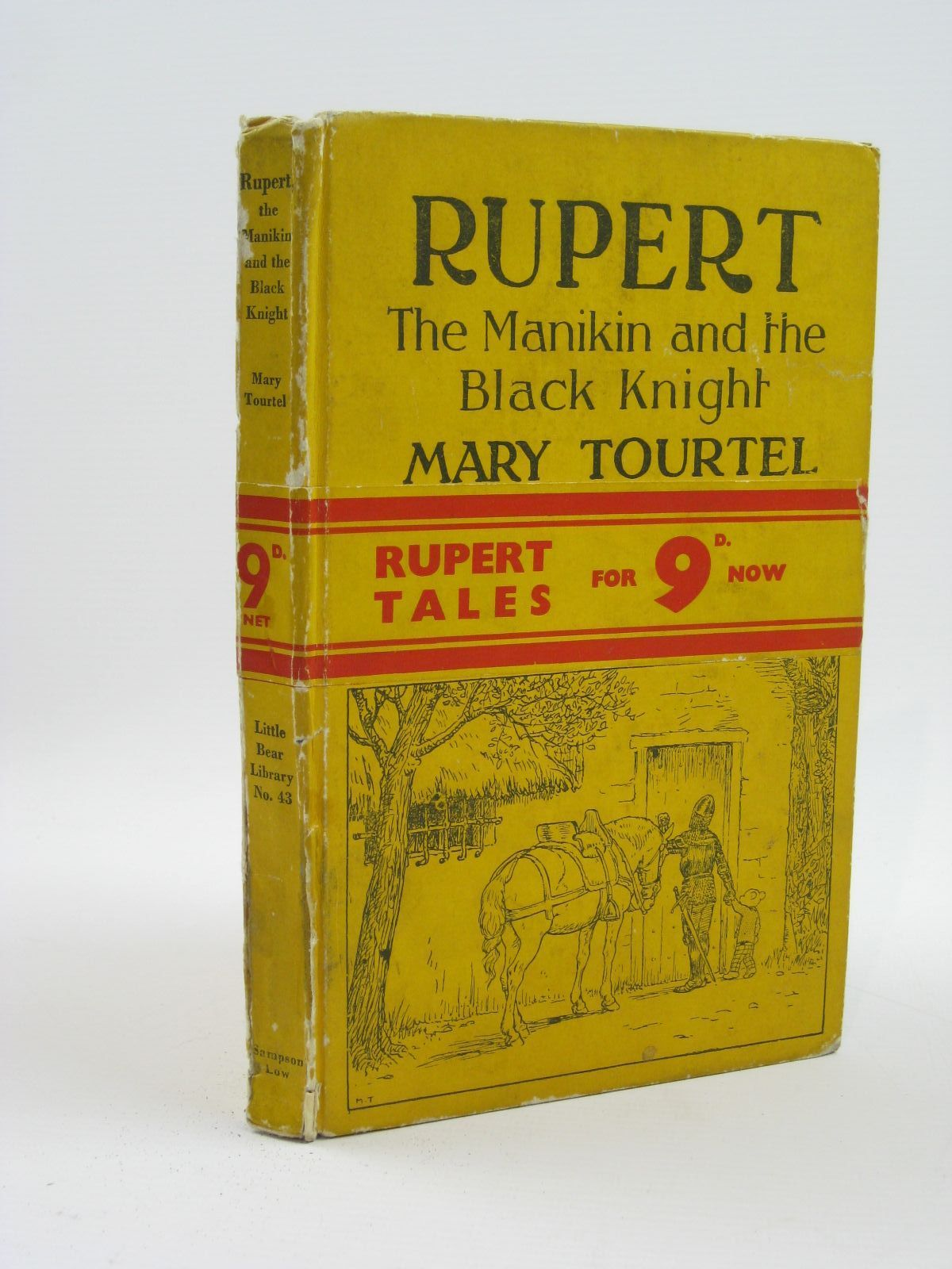 Photo of RUPERT, THE MANIKIN AND THE BLACK KNIGHT - RUPERT LITTLE BEAR LIBRARY No. 43 written by Tourtel, Mary illustrated by Tourtel, Mary published by Sampson Low, Marston & Co. Ltd. (STOCK CODE: 1316462)  for sale by Stella & Rose's Books