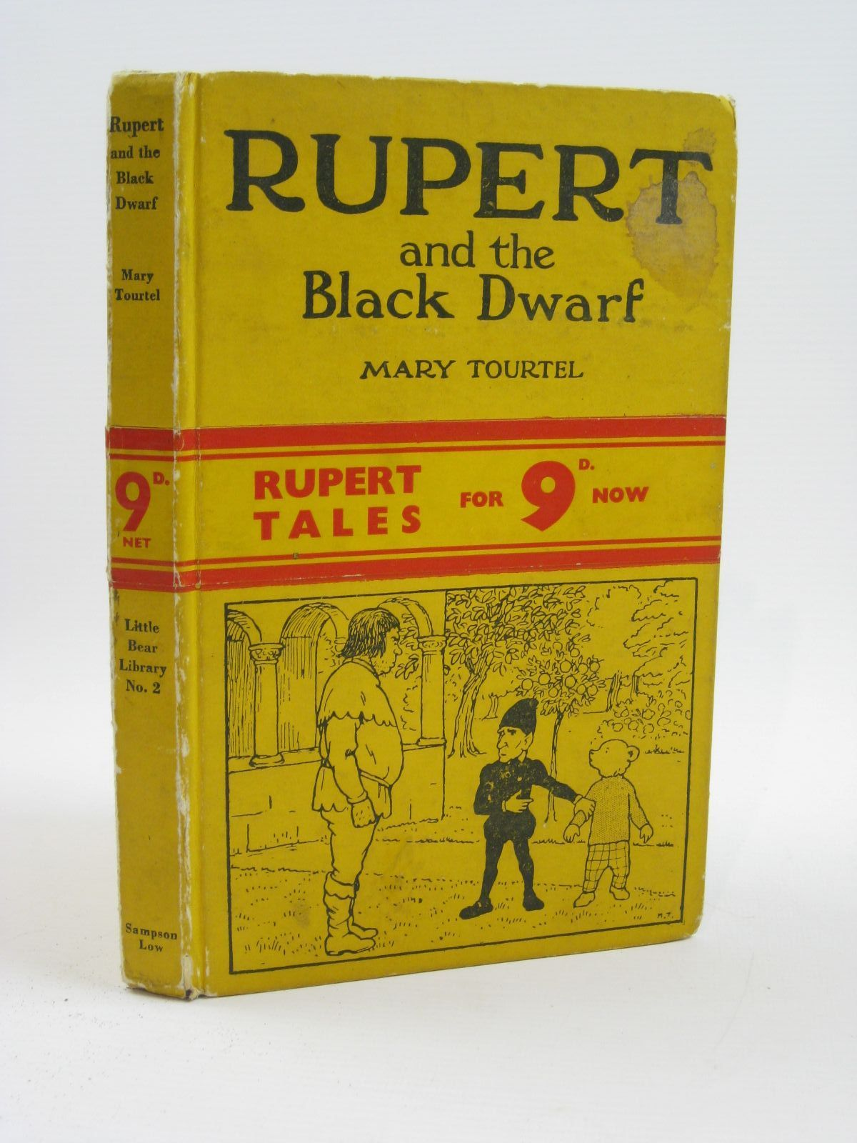 Photo of RUPERT AND THE BLACK DWARF - RUPERT LITTLE BEAR LIBRARY No. 2 written by Tourtel, Mary illustrated by Tourtel, Mary published by Sampson Low, Marston & Co. Ltd. (STOCK CODE: 1316463)  for sale by Stella & Rose's Books