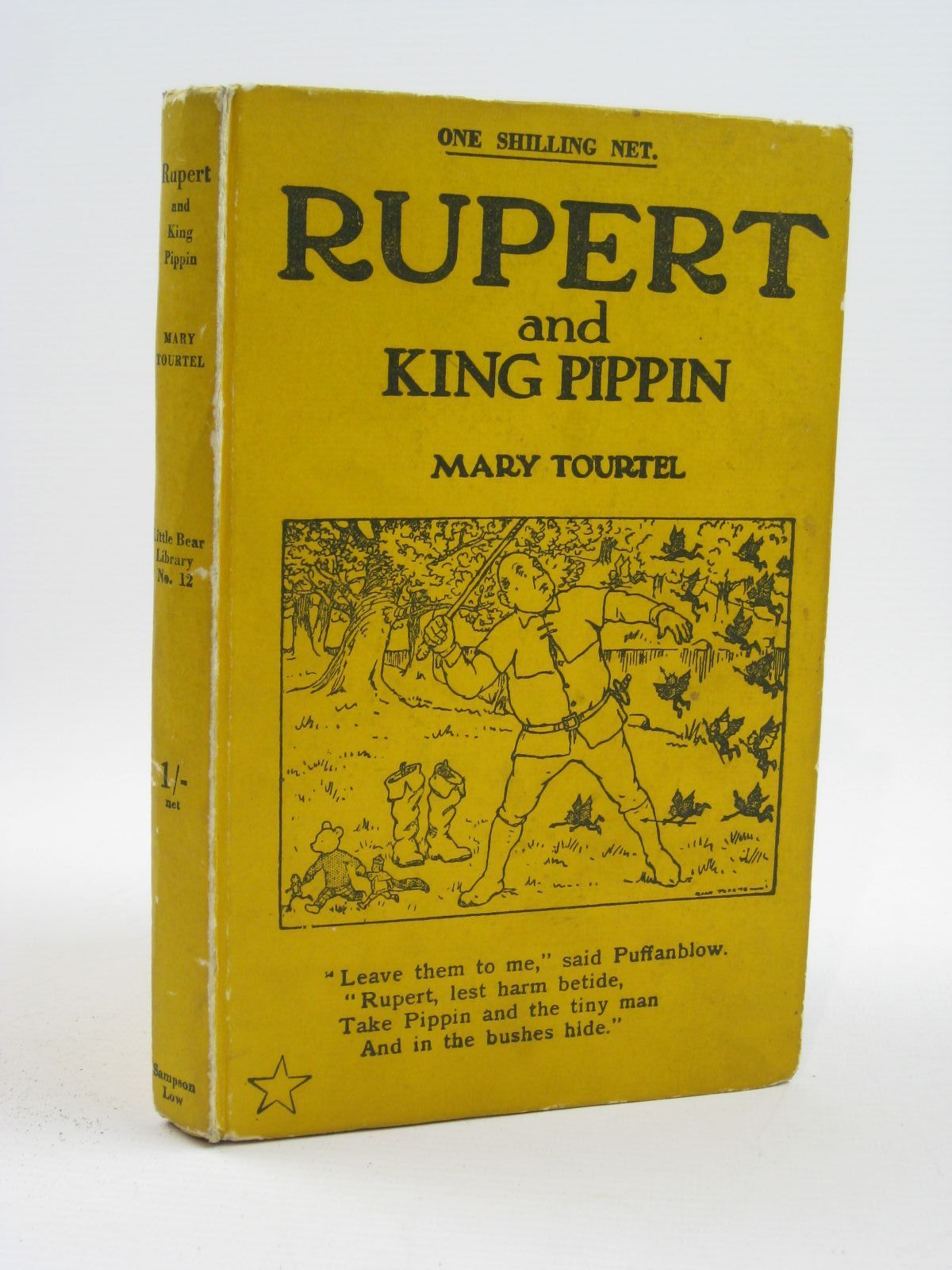 Photo of RUPERT AND KING PIPPIN - RUPERT LITTLE BEAR LIBRARY No. 12 written by Tourtel, Mary illustrated by Tourtel, Mary published by Sampson Low, Marston & Co. Ltd. (STOCK CODE: 1316468)  for sale by Stella & Rose's Books