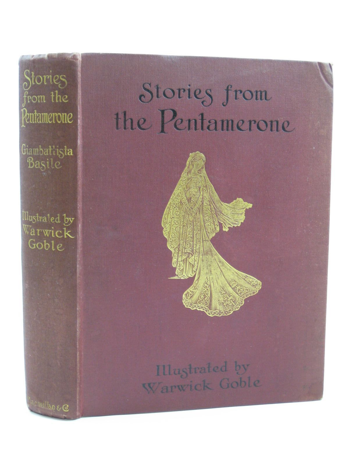 Photo of STORIES FROM THE PENTAMERONE written by Basile, Giambattista illustrated by Goble, Warwick published by Macmillan & Co. Ltd. (STOCK CODE: 1316479)  for sale by Stella & Rose's Books