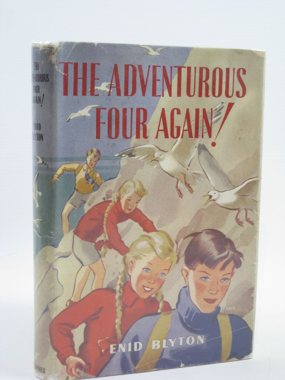 Photo of THE ADVENTUROUS FOUR AGAIN! written by Blyton, Enid illustrated by Land, Jessie published by George Newnes Ltd. (STOCK CODE: 1316493)  for sale by Stella & Rose's Books