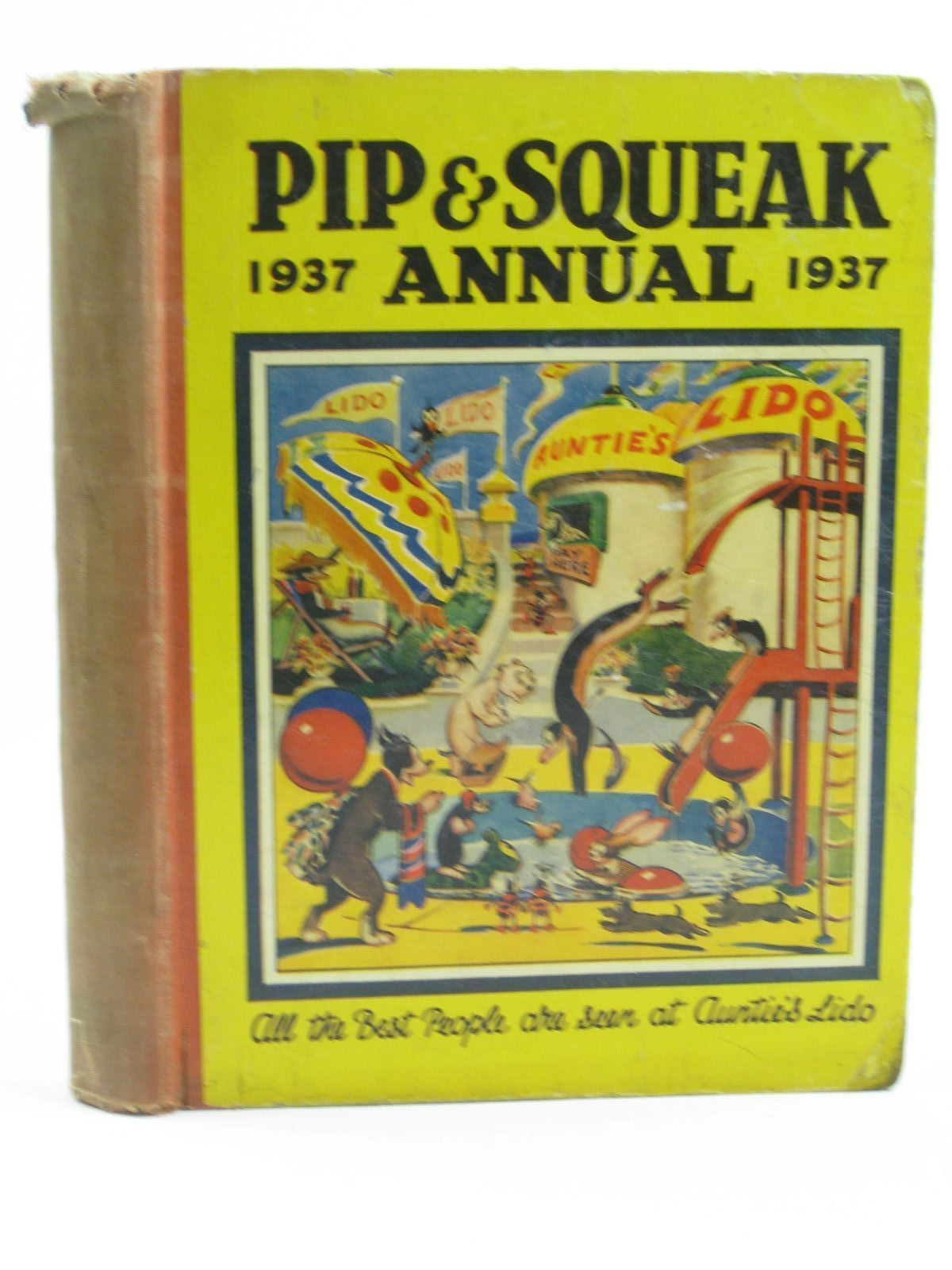 Photo of PIP & SQUEAK ANNUAL 1937 published by Daily Mirror (STOCK CODE: 1316500)  for sale by Stella & Rose's Books
