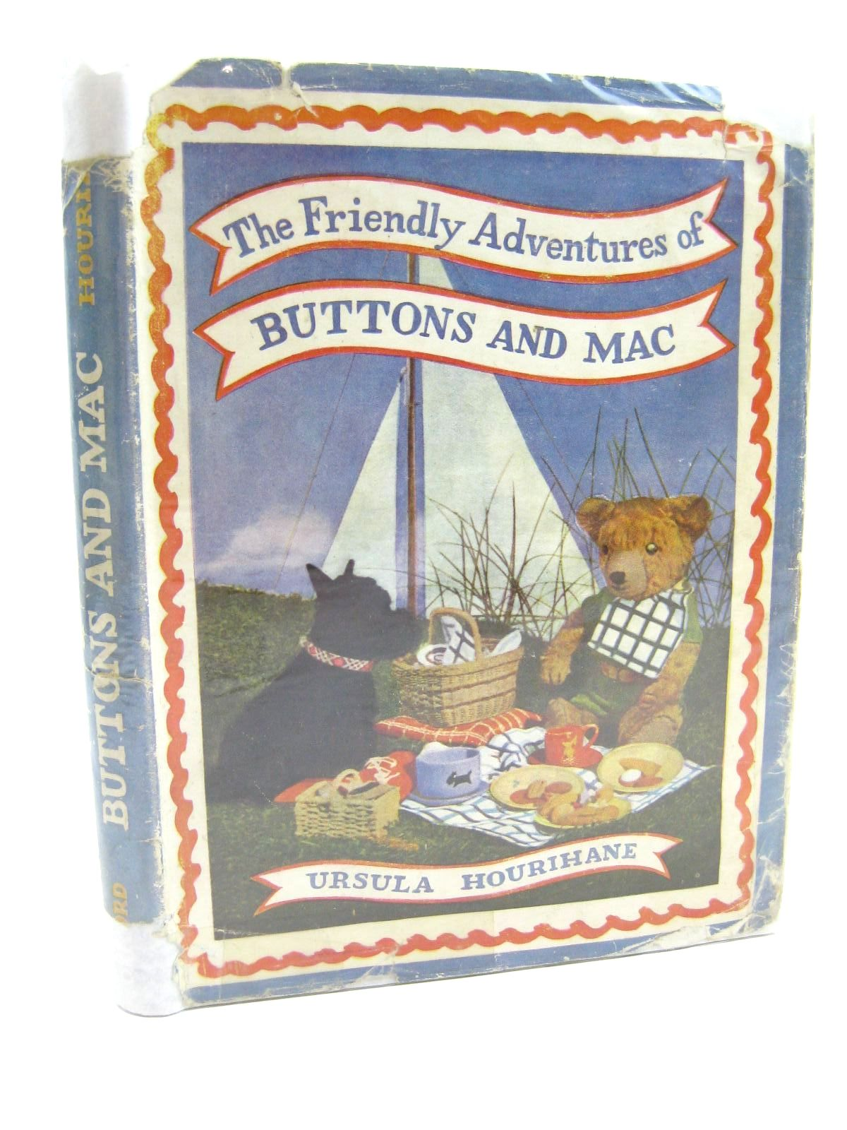 Photo of THE FRIENDLY ADVENTURES OF BUTTONS AND MAC written by Hourihane, Ursulaane illustrated by Hodges, C. Walter<br />Denes, Gabor published by Oxford University Press, Geoffrey Cumberlege (STOCK CODE: 1316538)  for sale by Stella & Rose's Books