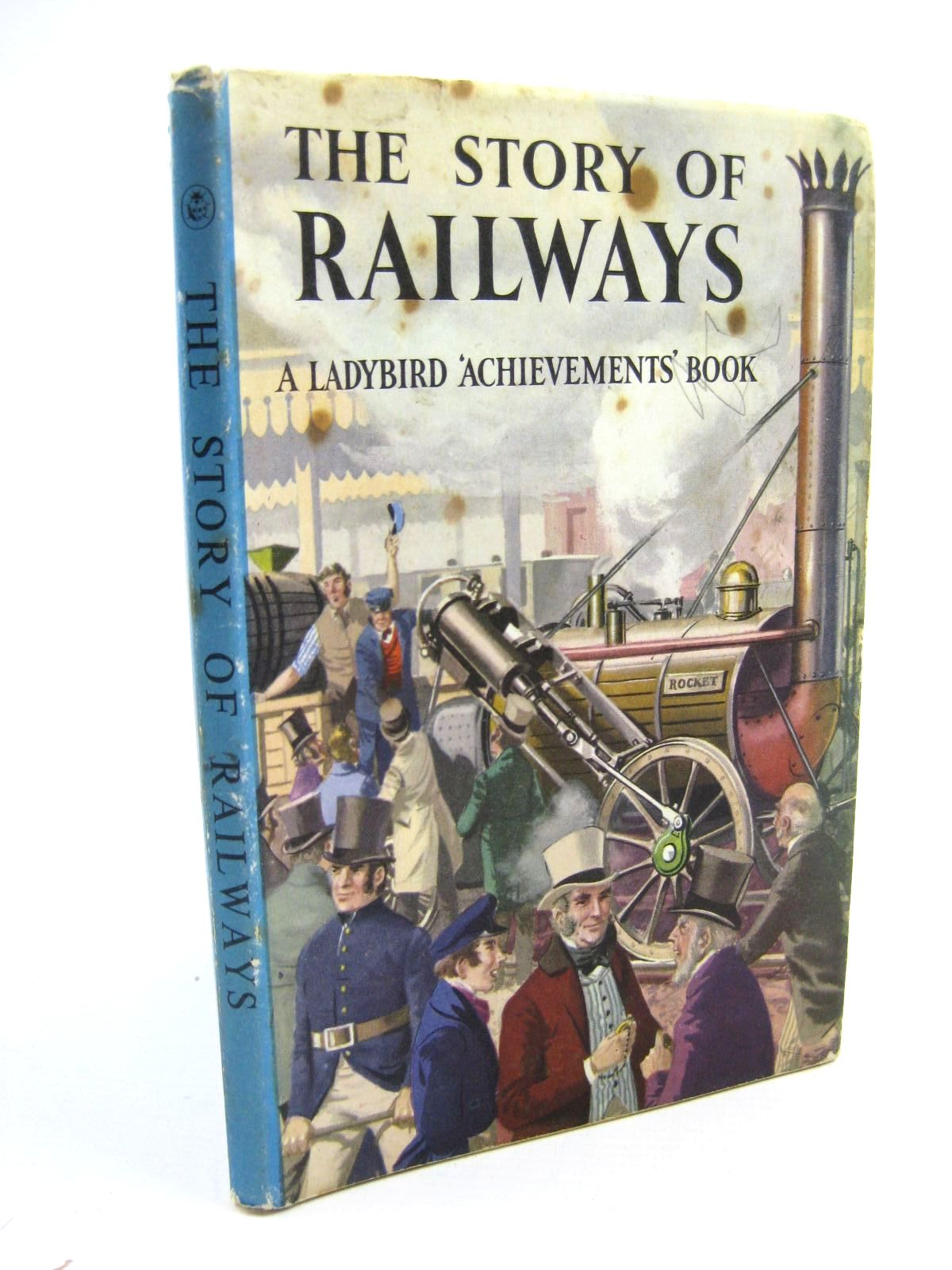 Photo of THE STORY OF RAILWAYS written by Bowood, Richard illustrated by Ayton, Robert published by Wills & Hepworth Ltd. (STOCK CODE: 1316578)  for sale by Stella & Rose's Books