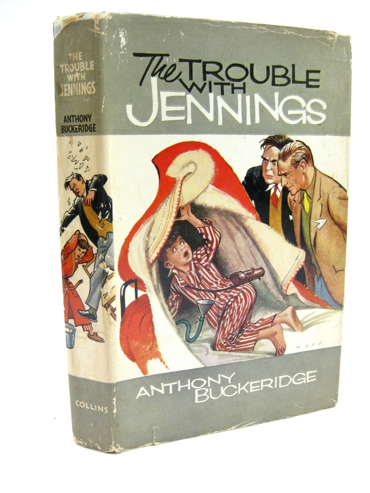 Photo of THE TROUBLE WITH JENNINGS written by Buckeridge, Anthony illustrated by Mays,  published by Collins (STOCK CODE: 1316626)  for sale by Stella & Rose's Books