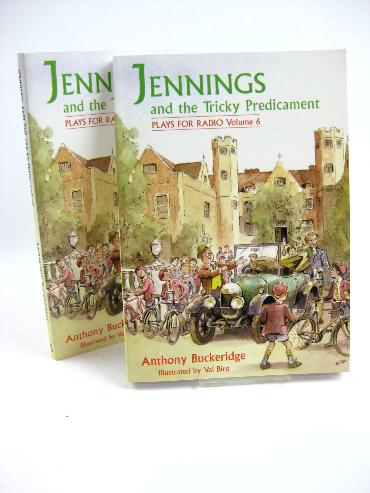 Photo of JENNINGS AND THE TRICKY PREDICAMENT written by Buckeridge, Anthony illustrated by Biro, Val published by David Schutte (STOCK CODE: 1316638)  for sale by Stella & Rose's Books