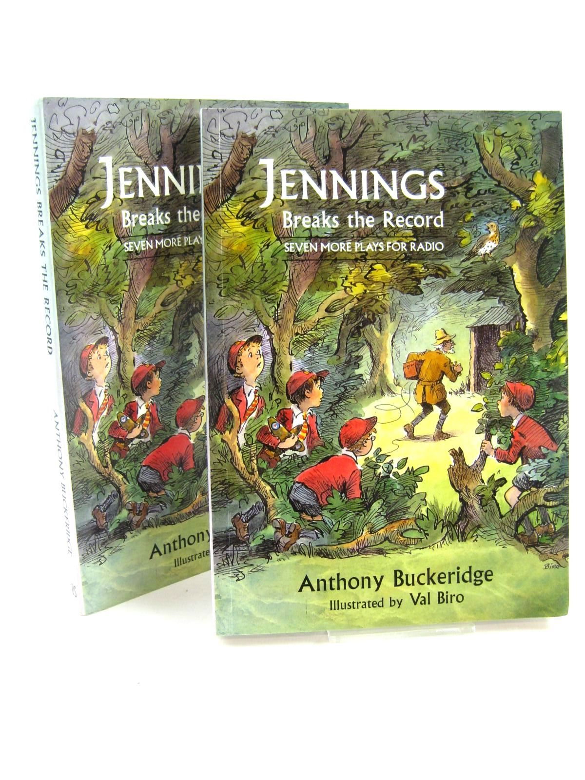 Photo of JENNINGS BREAKS THE RECORD written by Buckeridge, Anthony illustrated by Biro, Val published by David Schutte (STOCK CODE: 1316639)  for sale by Stella & Rose's Books