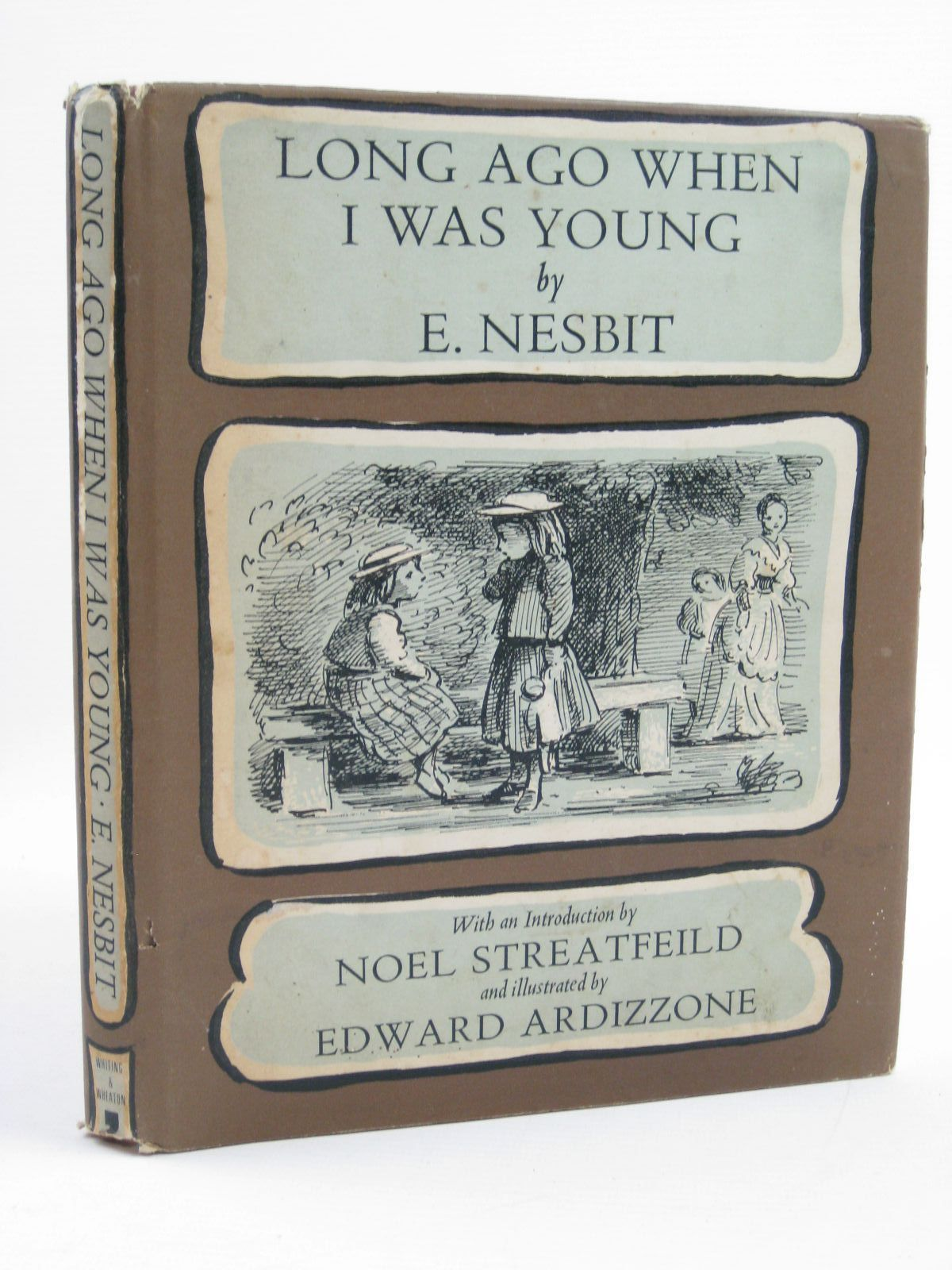 Photo of LONG AGO WHEN I WAS YOUNG written by Nesbit, E.<br />Streatfeild, Noel illustrated by Ardizzone, Edward published by Ronald Whiting & Wheaton Ltd. (STOCK CODE: 1316710)  for sale by Stella & Rose's Books