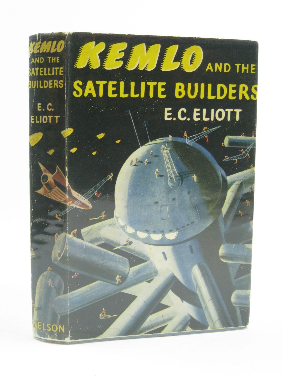 Photo of KEMLO AND THE SATELLITE BUILDERS written by Eliott, E.C. illustrated by Craig, George published by Thomas Nelson and Sons Ltd. (STOCK CODE: 1316724)  for sale by Stella & Rose's Books