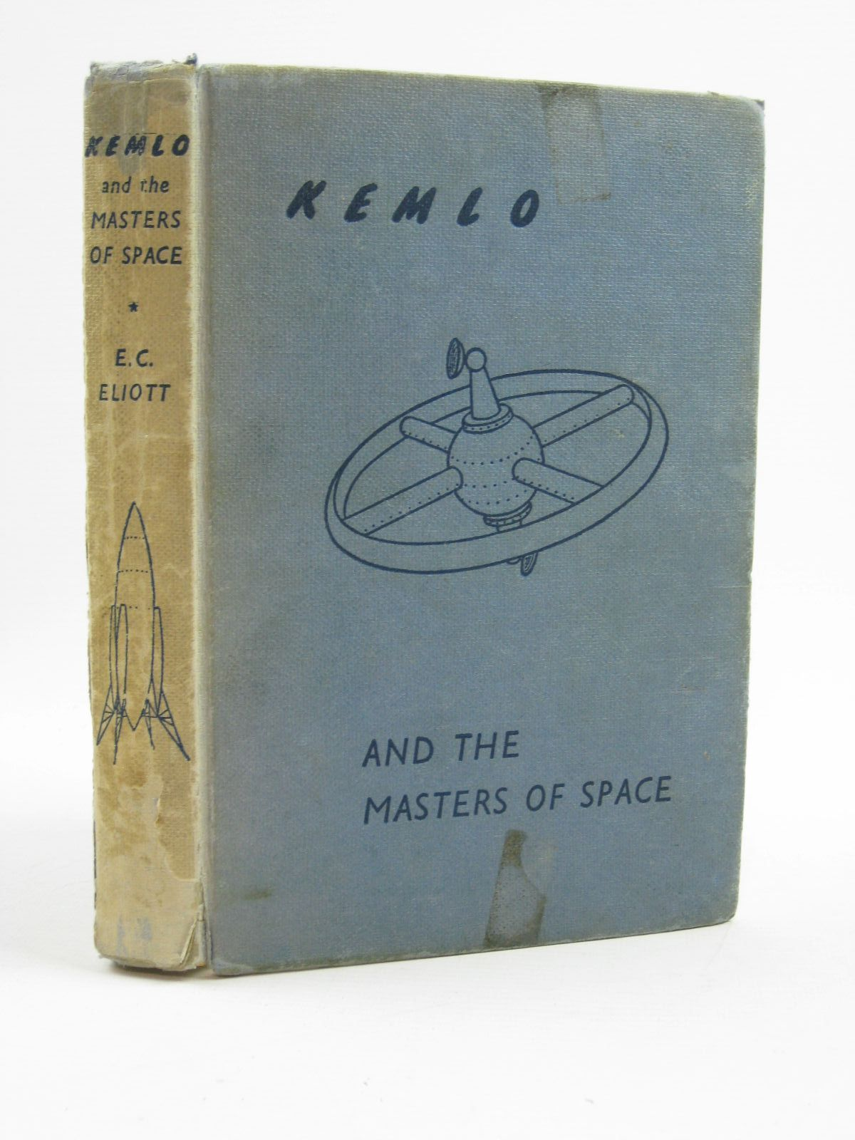 Photo of KEMLO AND THE MASTERS OF SPACE written by Eliott, E.C. illustrated by Craig, George published by Thomas Nelson and Sons Ltd. (STOCK CODE: 1316727)  for sale by Stella & Rose's Books
